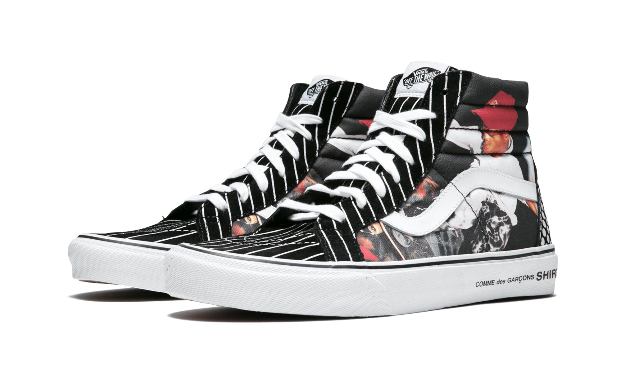 4ae9551afd Vans - Black Sk8-hi Reissue for Men - Lyst. View fullscreen