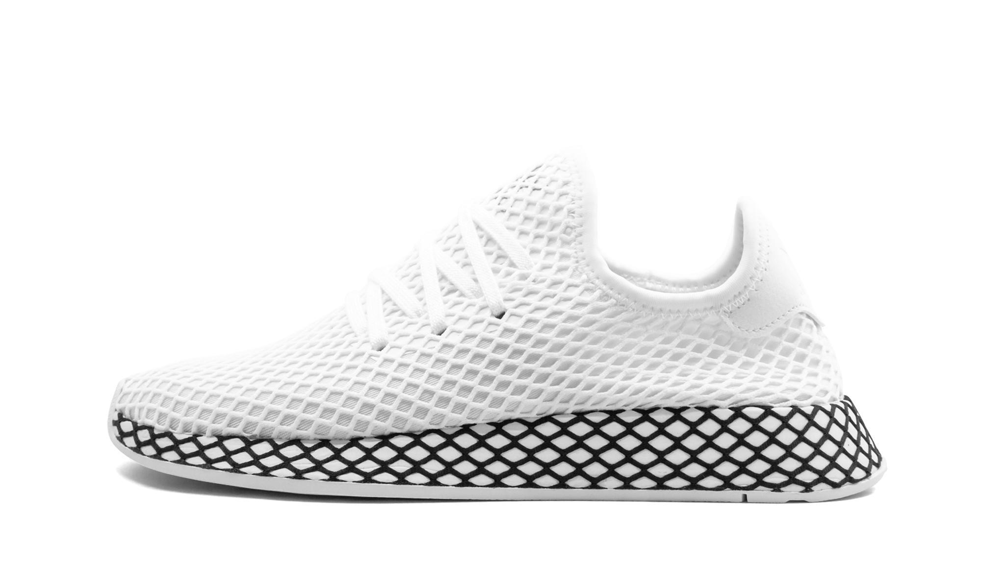 timeless design d5d06 4315b adidas. Womens White Deerupt Runner