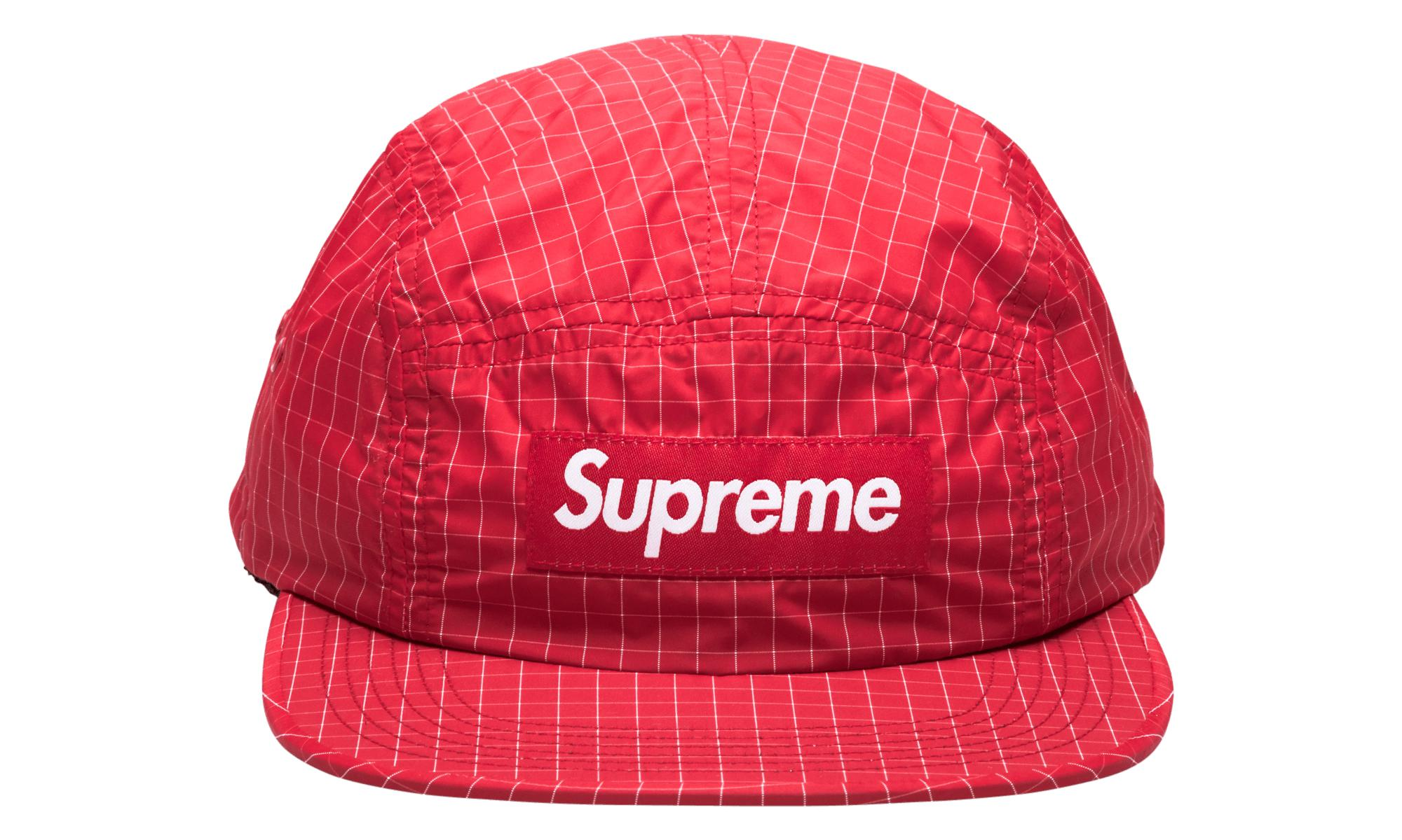 7567b2fdb1c Supreme Contrast Ripstop Camp Cap in Red for Men - Lyst