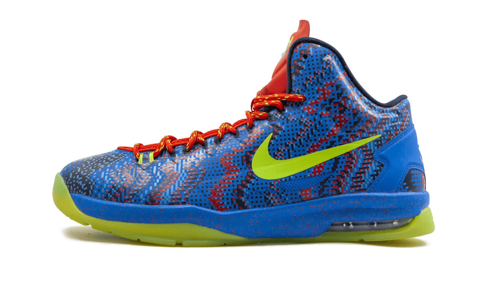 1121a497dbda Nike Kd 5 in Blue for Men - Lyst