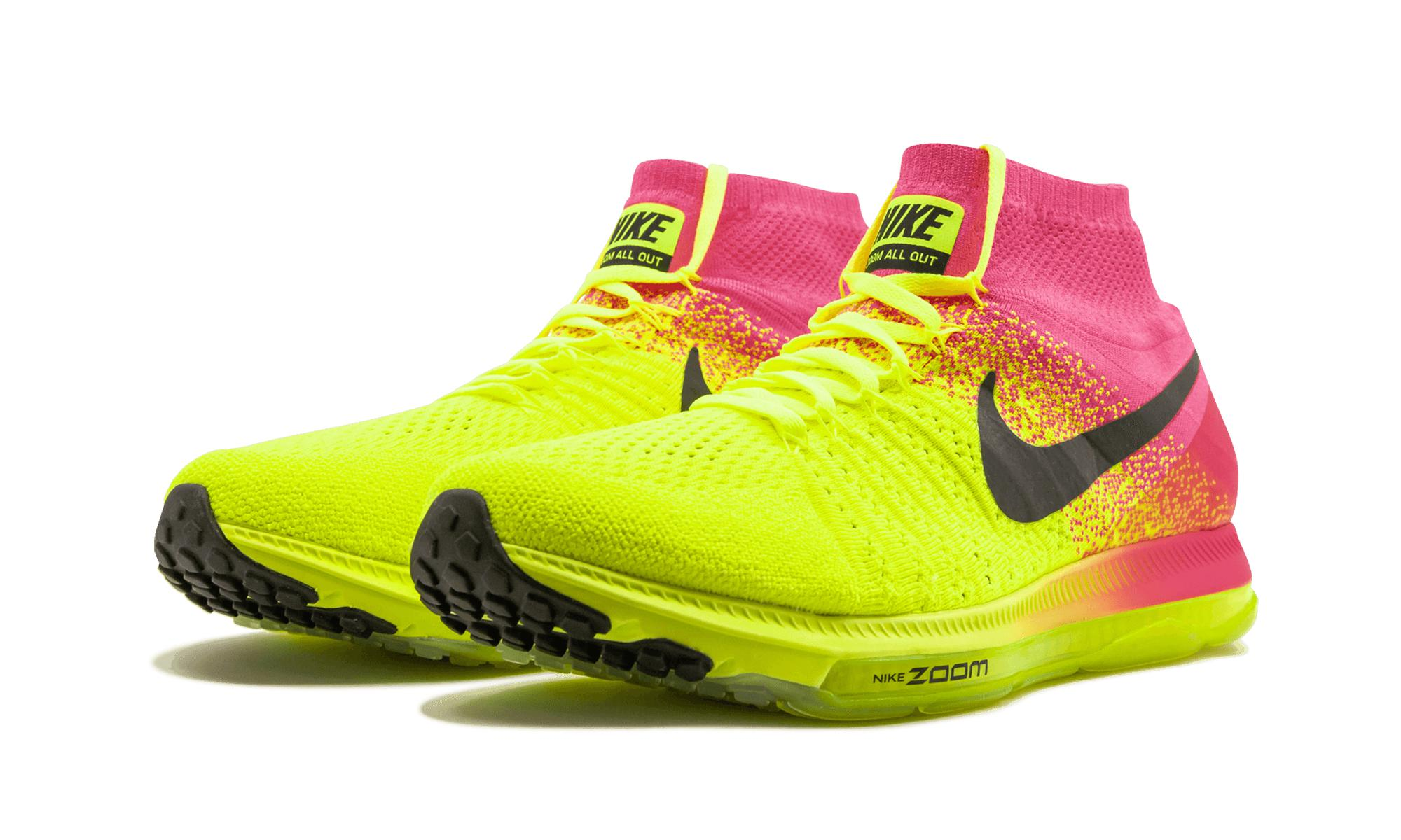 542f99abf4be3 ... uk nike yellow zoom all out flyknit oc for men lyst. view fullscreen  73597 d4bb6