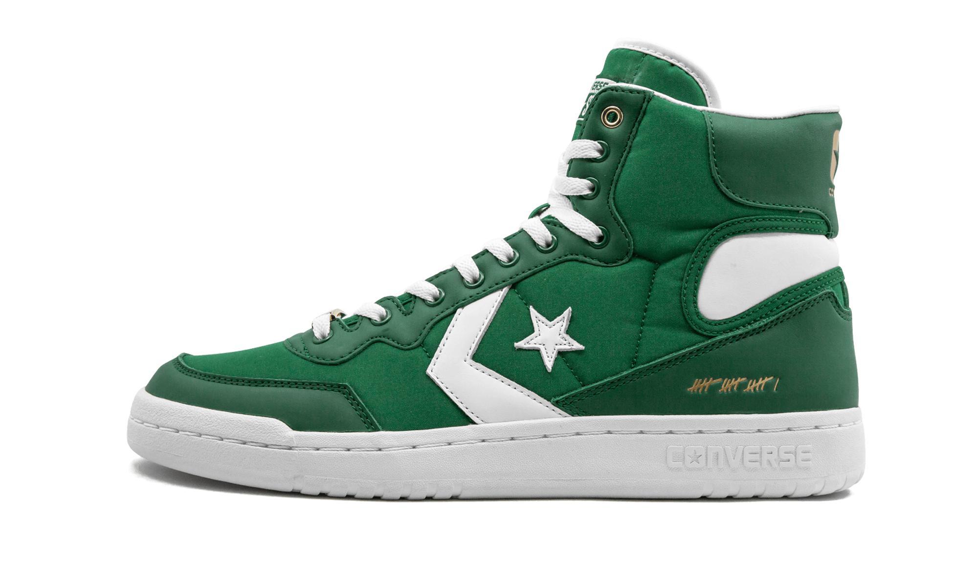 Lyst - Converse Fastbreak Hi in Green for Men e4d0cbd1f