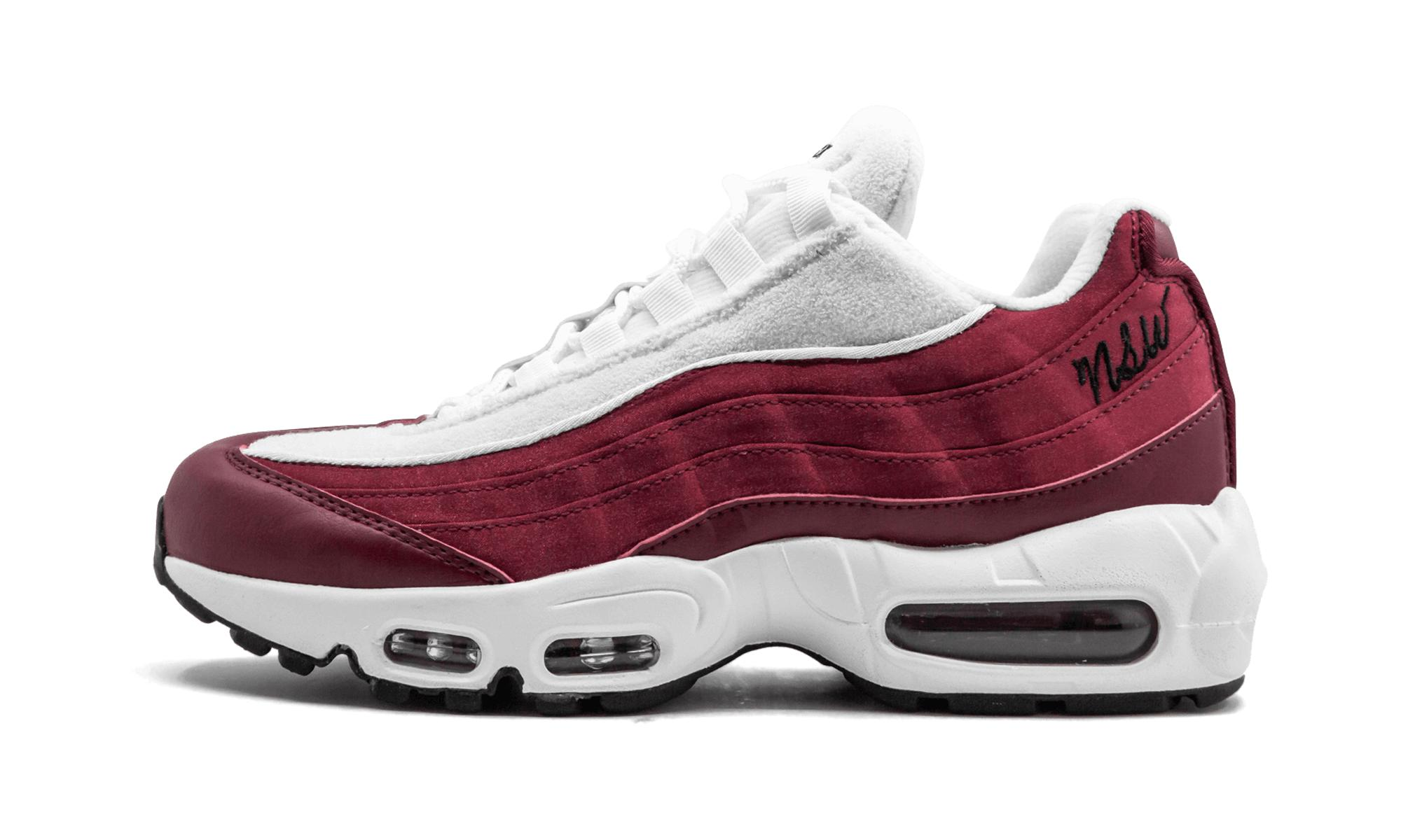 6073e172f1 Lyst - Nike Wmns Air Max 95 Lx in Red