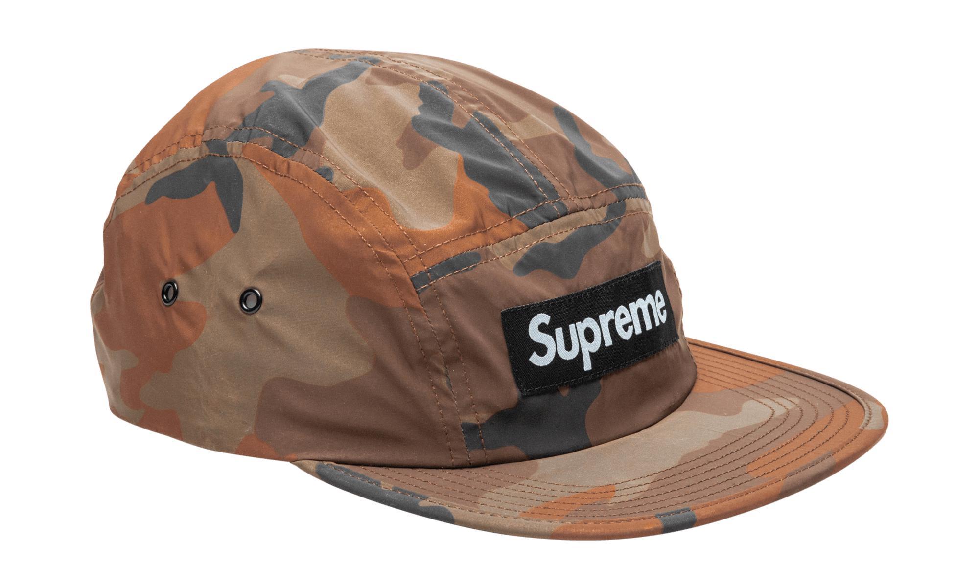 e5f63c72244 Supreme Reflective Camo Camp Cap for Men - Lyst