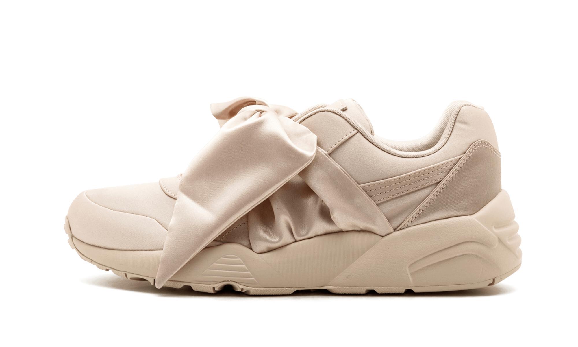 7e0454b12cc Lyst - PUMA Rihanna Fenty Bow Sneaker Wome in Pink