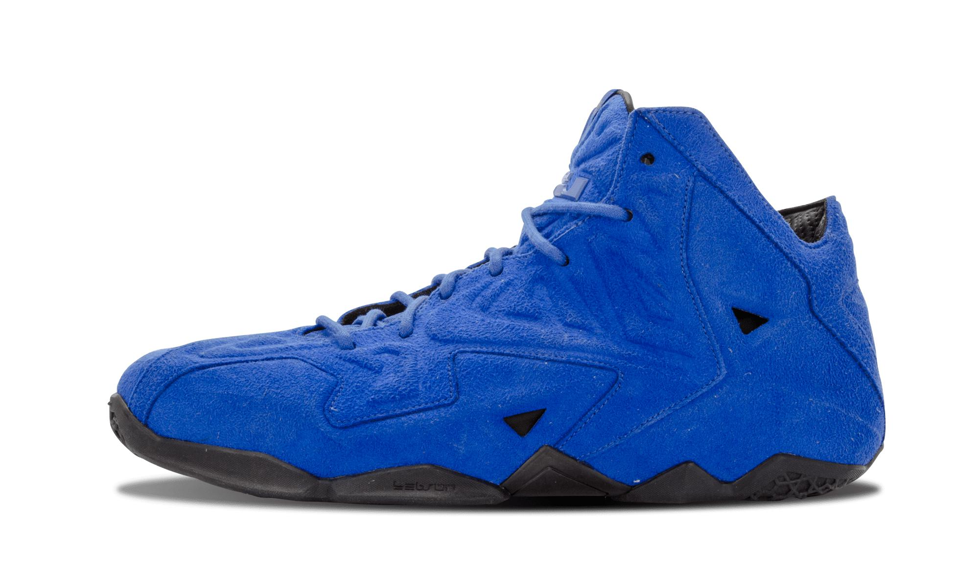 Nike Lebron 11 Ext Suede Qs in Blue for Men - Lyst ae58a819e