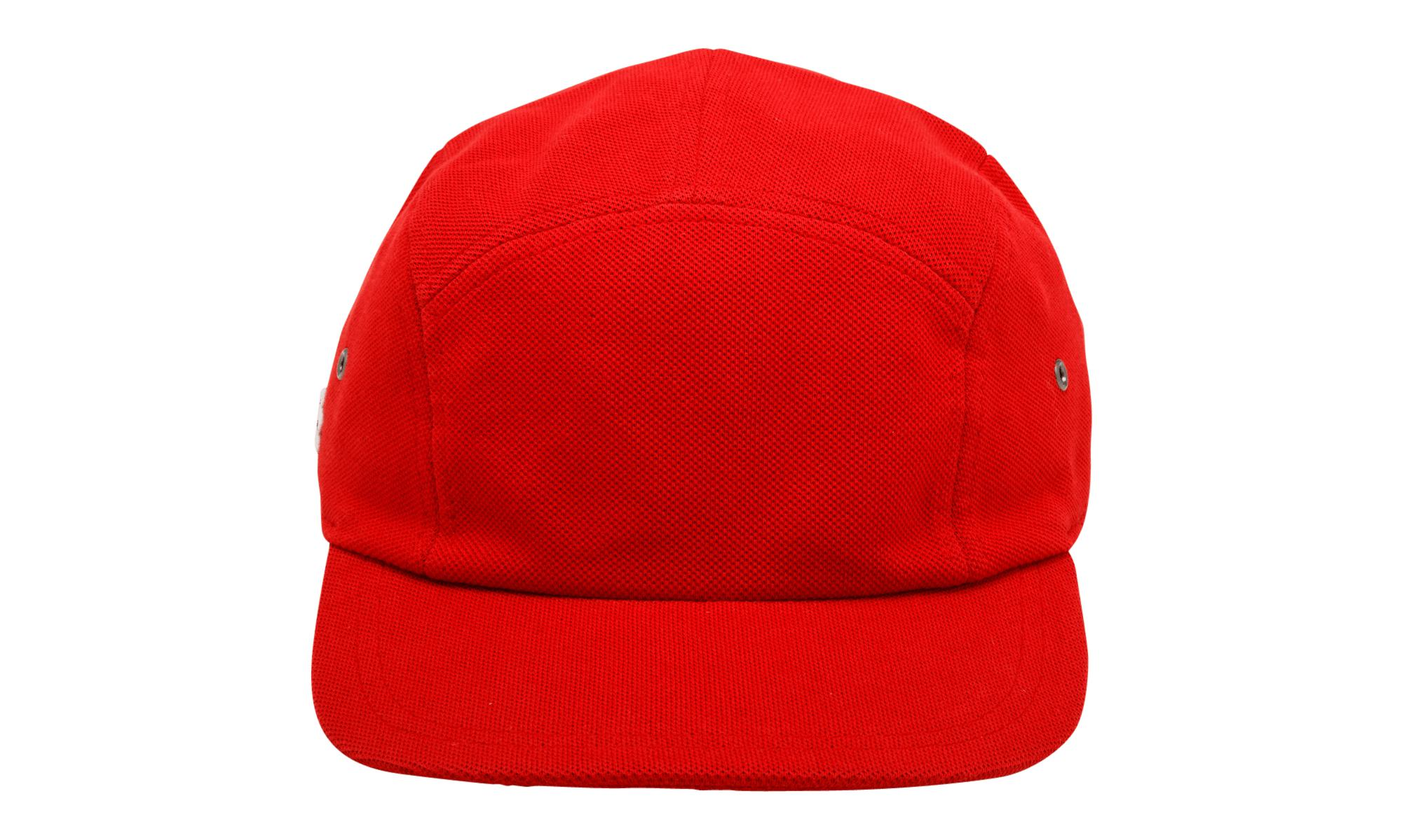 Supreme Lacoste Pique Camp Cap in Red for Men - Lyst f6a20a57bc4