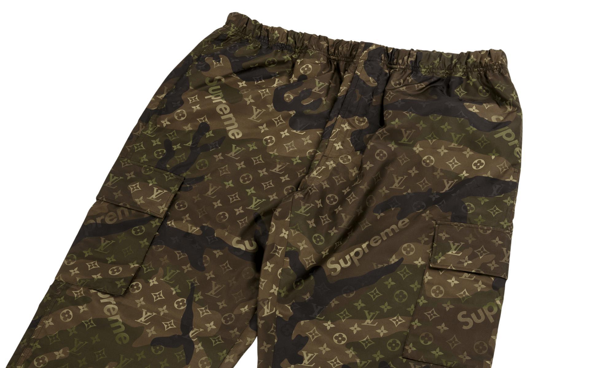 Lyst Louis Vuitton Monogram Cargo Track Pants In Green For Men