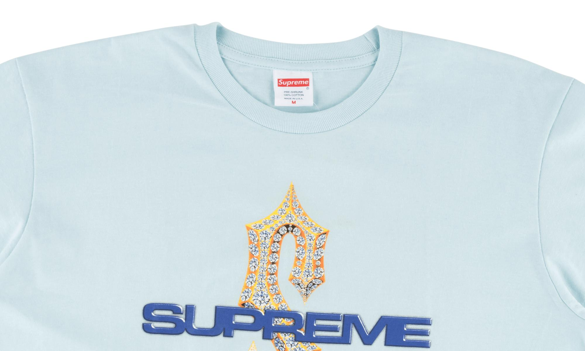 f72d5401 Lyst - Supreme Diamonds Tee in Blue for Men