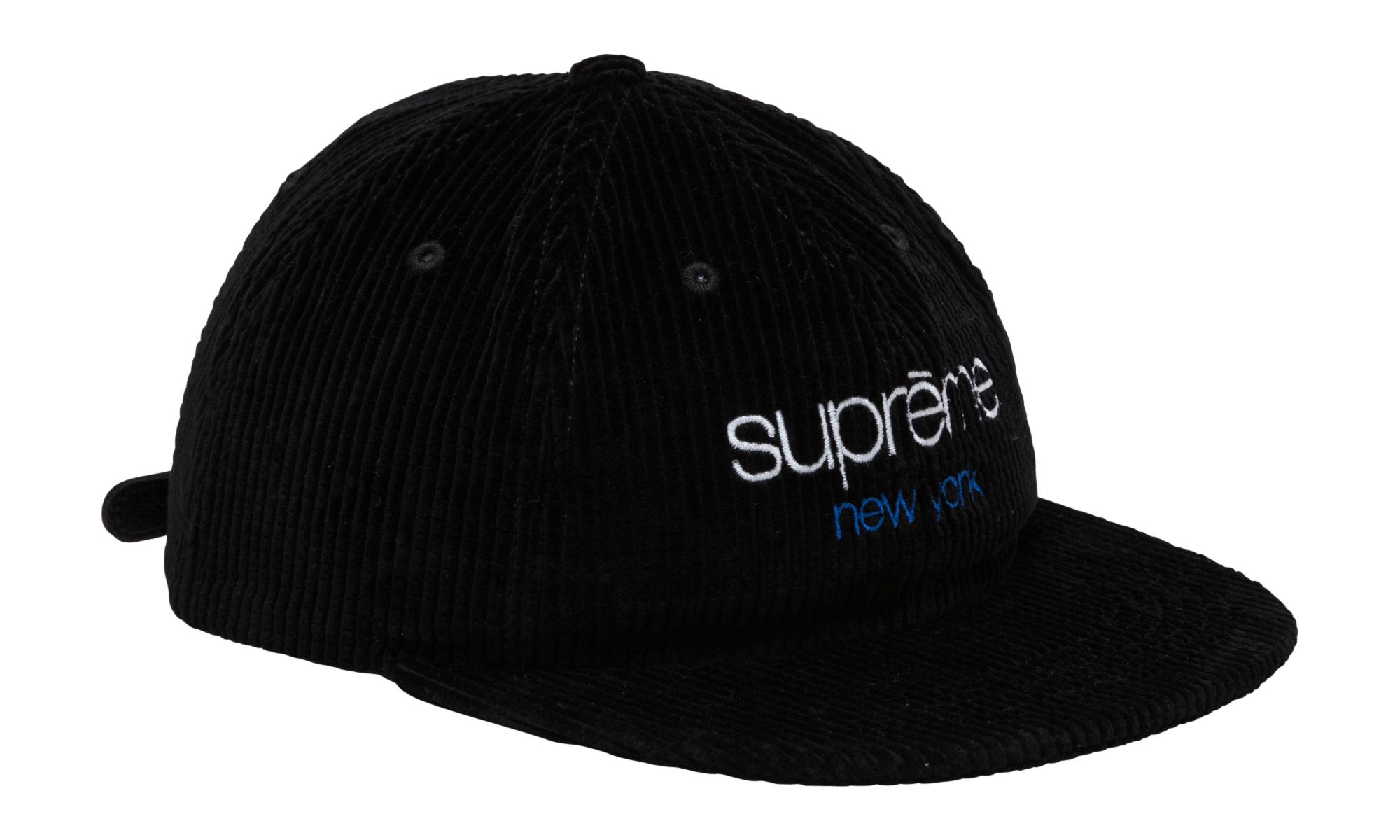 c7385b5af61 Lyst - Supreme Waffle Cord Classic Logo 6-pan in Black for Men