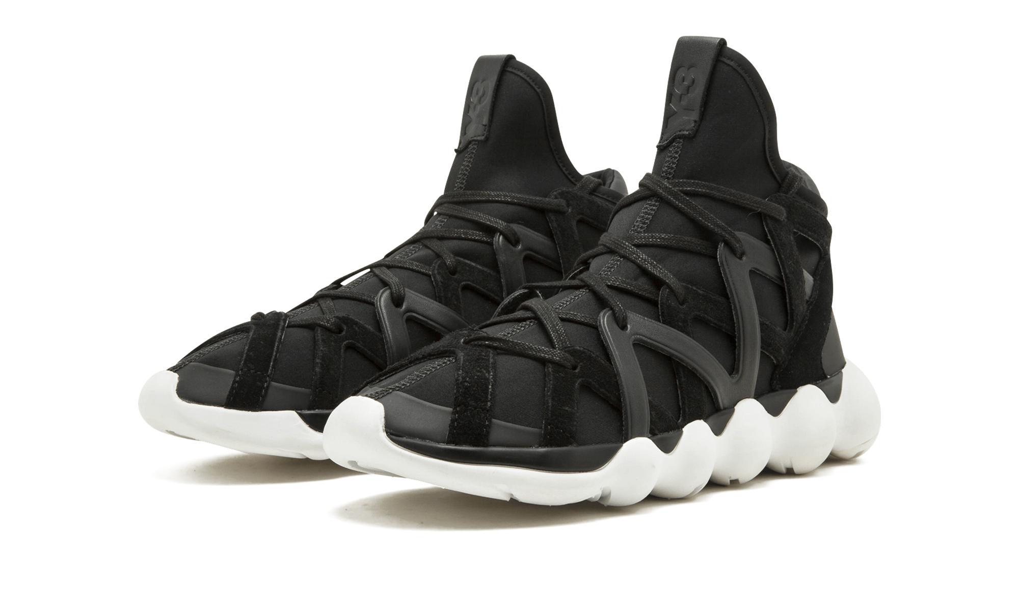 420a54a347f42 Adidas - Black Y-3 Kyujo High for Men - Lyst. View fullscreen