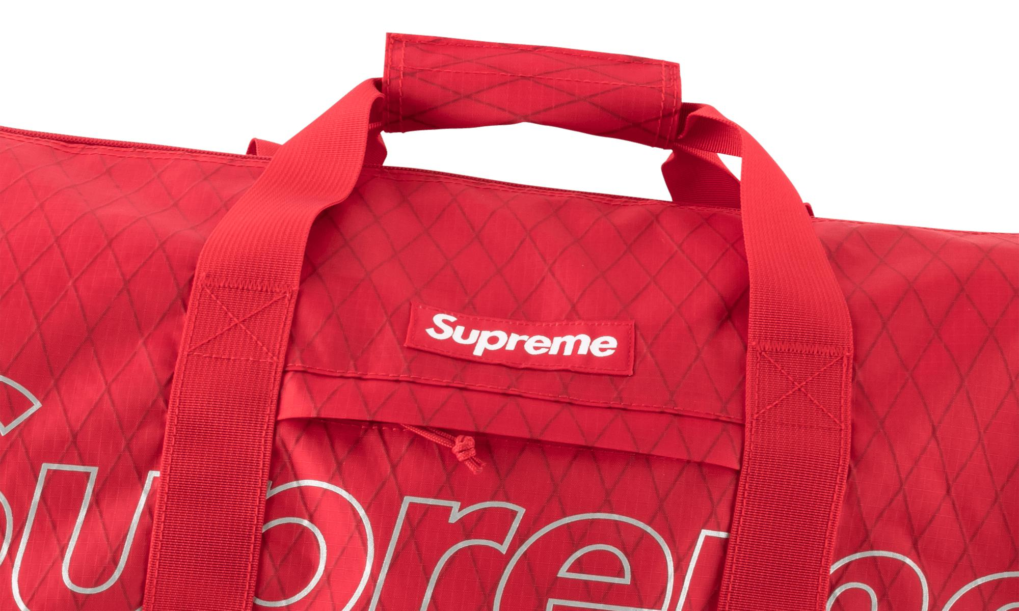 04f97cadedad Supreme Duffle Bag in Red for Men - Lyst