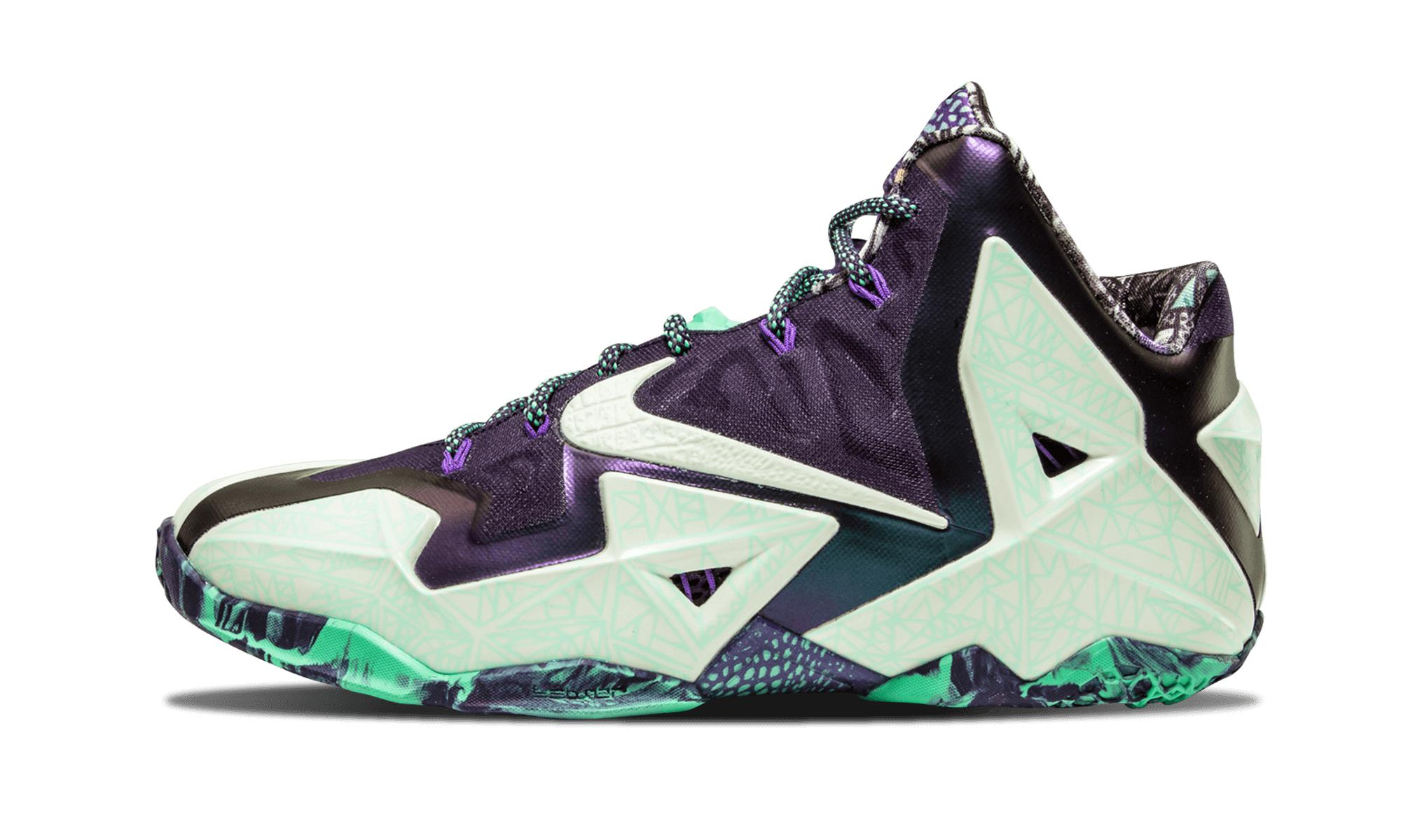 ef57b62b67cf nike lebron 11 gator king for sale