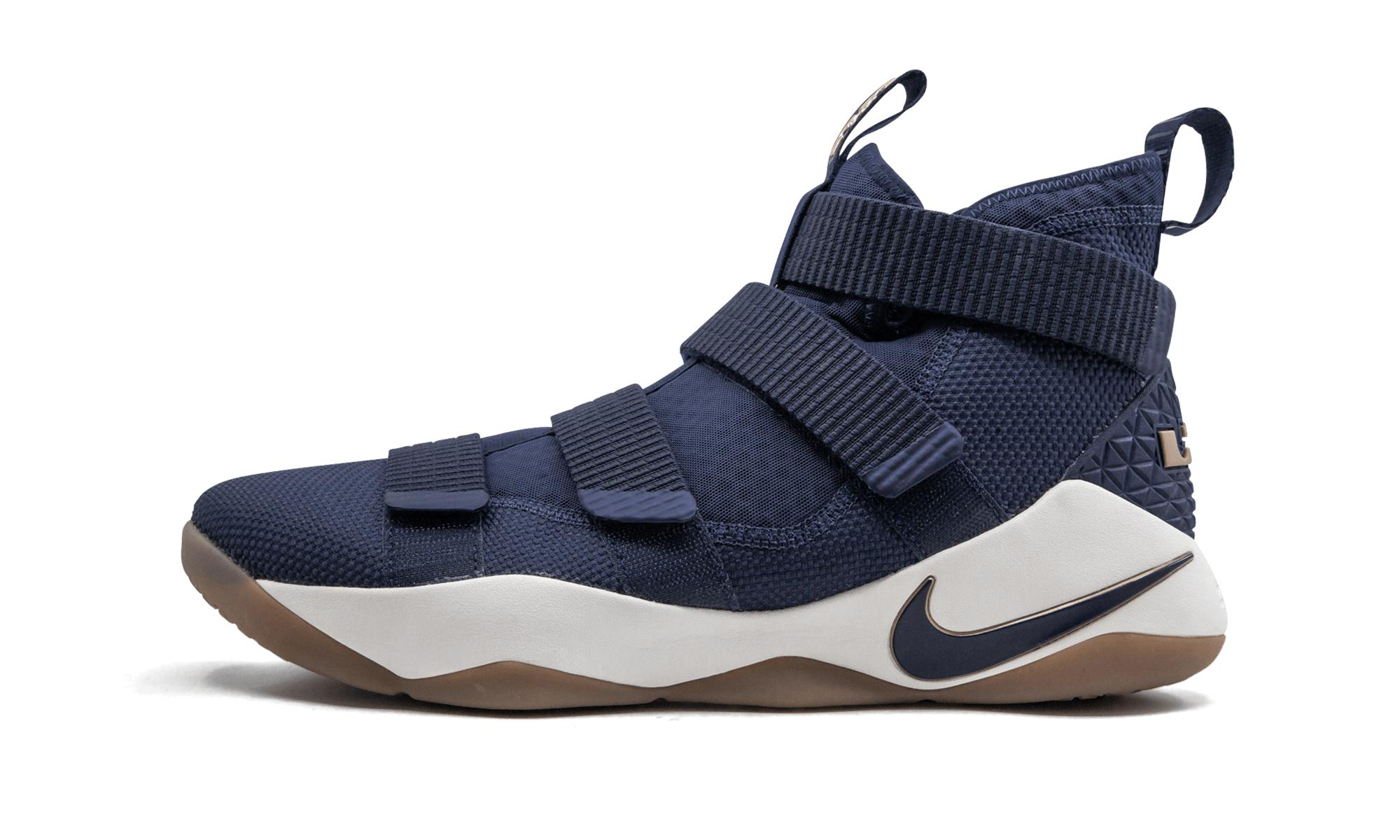 404ee4e58e5c Lyst - Nike Lebron Soldier 11 in Blue for Men