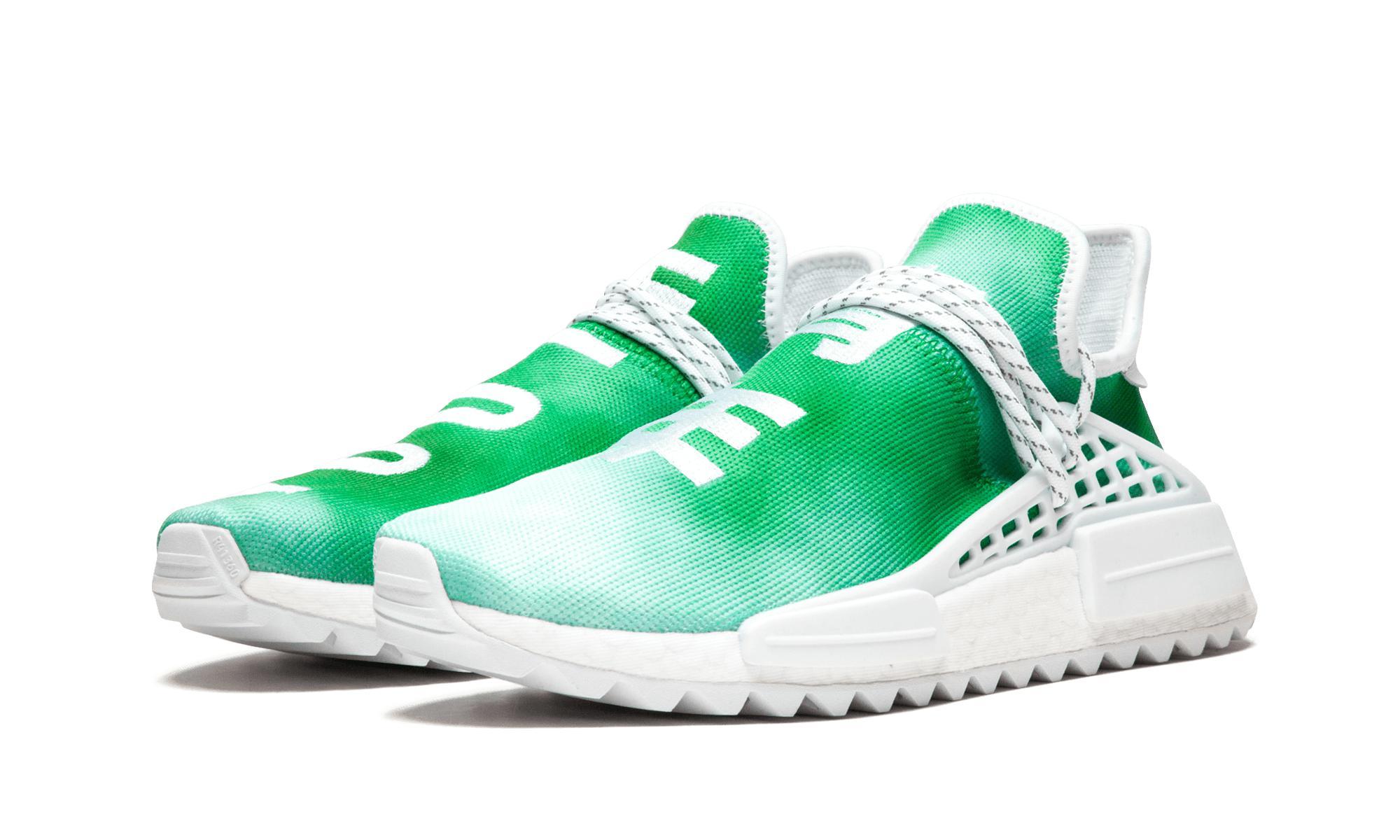 huge discount 89ed9 43849 Adidas - Green Pharrell Williams Hu Holi Nmd Mc for Men - Lyst. View  fullscreen