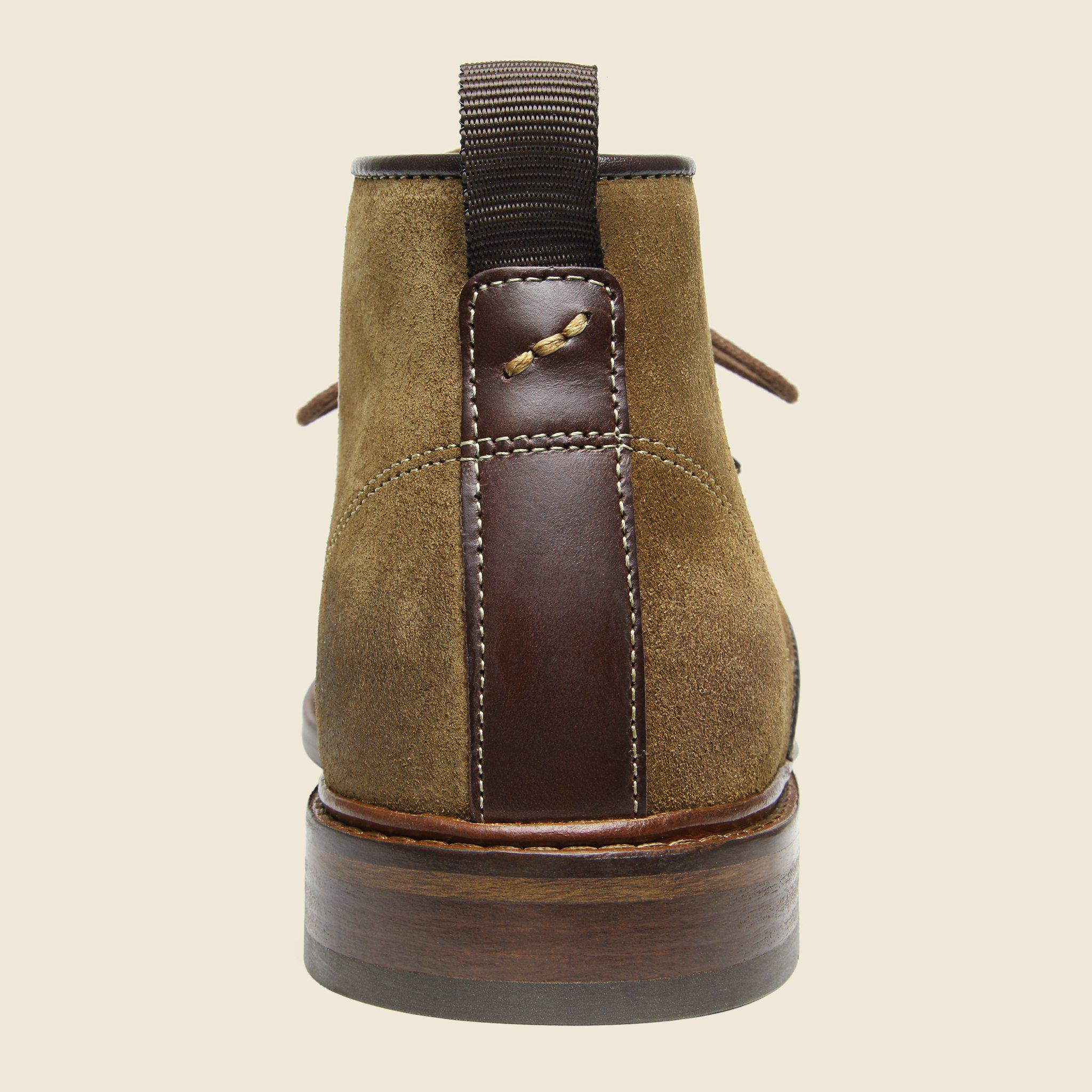 ccc040622448 Lyst - Shoe The Bear Dalton Suede Chukka - Light Brown in Brown for Men