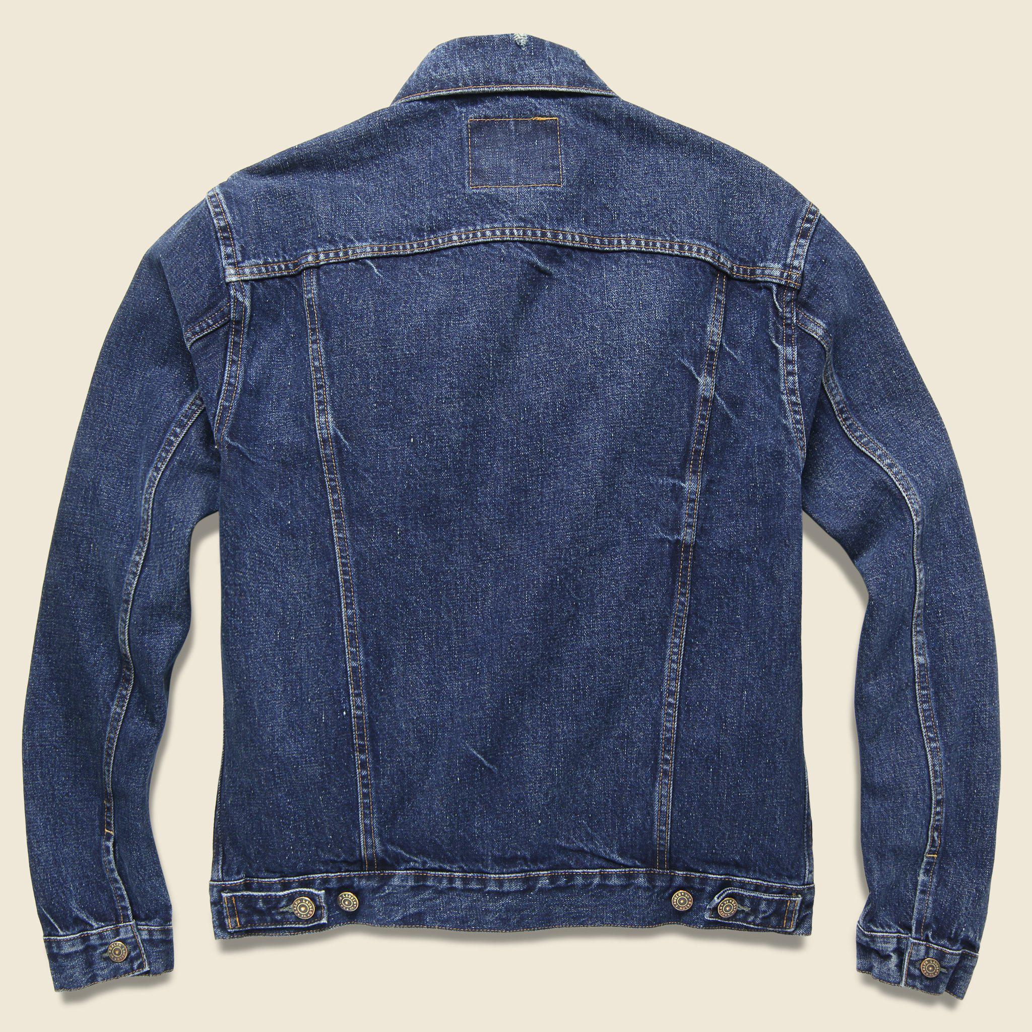 3377b74070 Lyst - RRL Denim Jacket - Stillwell Wash in Blue for Men
