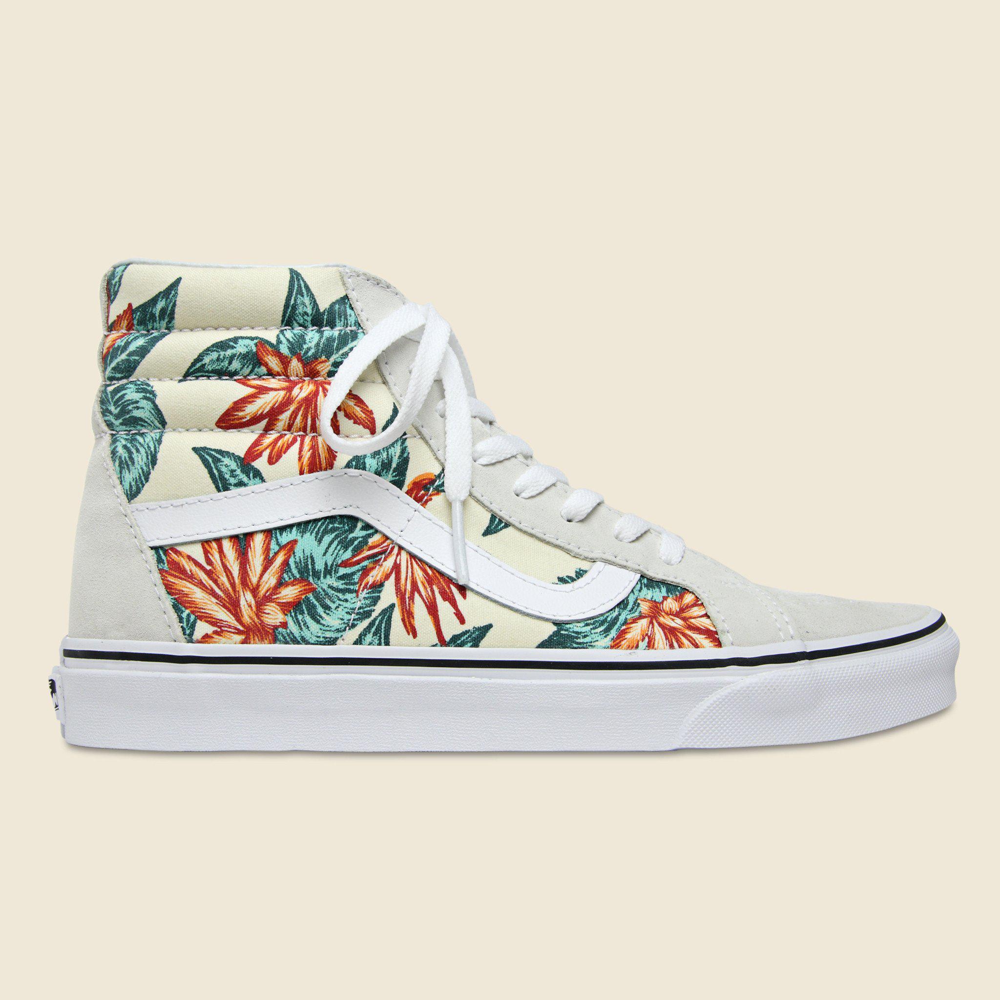 783e4be1061 Lyst - Vans Vintage Aloha Sk8 Hi-top - White in White for Men