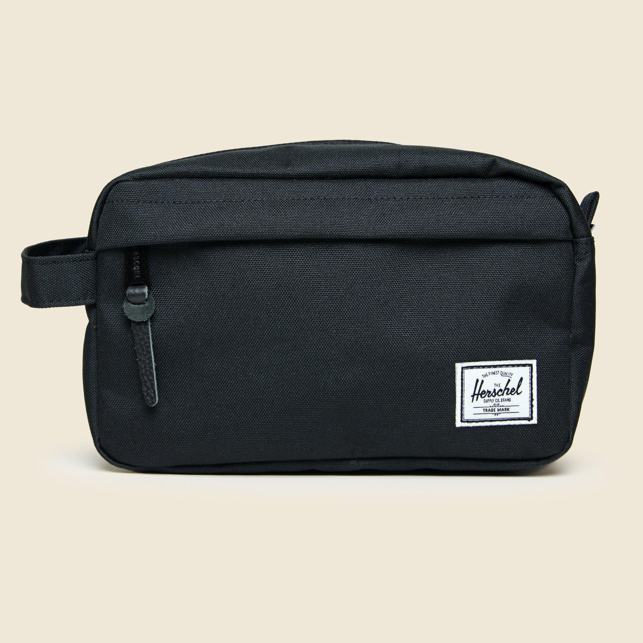 250fd640ec9 Lyst - Herschel Supply Co. Chapter Travel Kit - Black in Black for Men