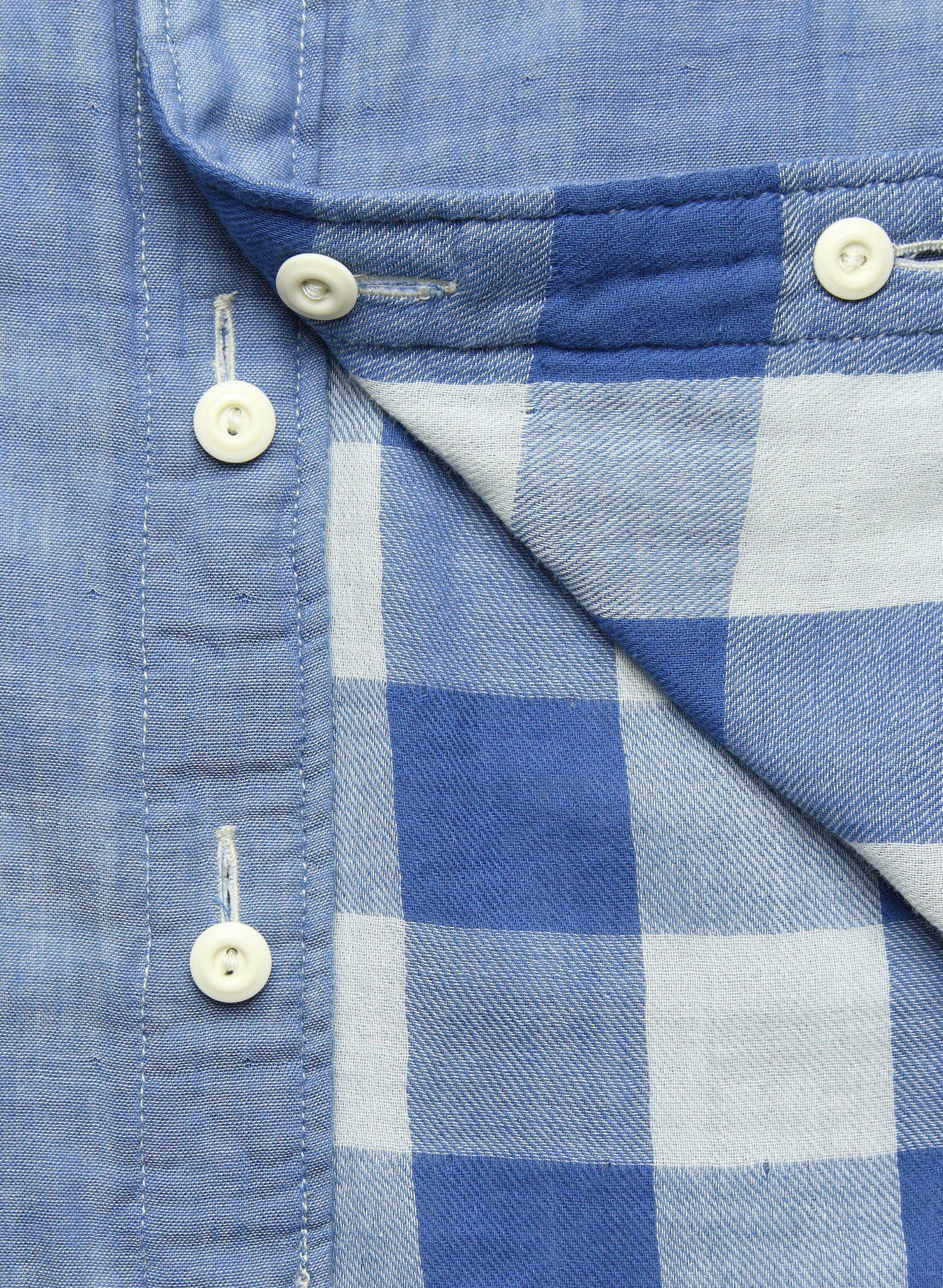 718d4d9a4e Lyst - Faherty Brand Belmar Workshirt - Chambray in Blue for Men