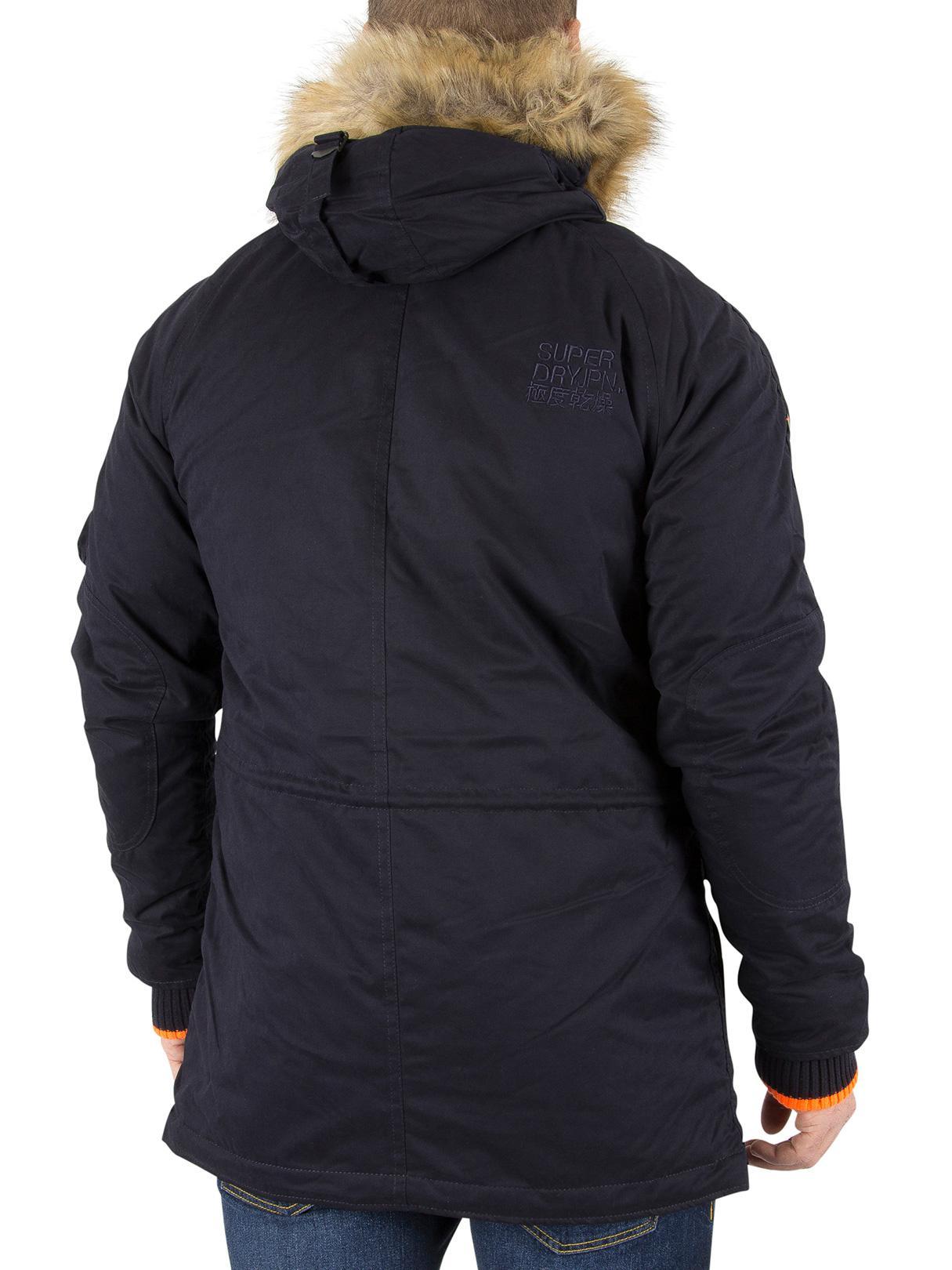 ac7282fb75f7a4 Superdry - Blue Dark Navy Sd-3 Parka Jacket for Men - Lyst. View fullscreen