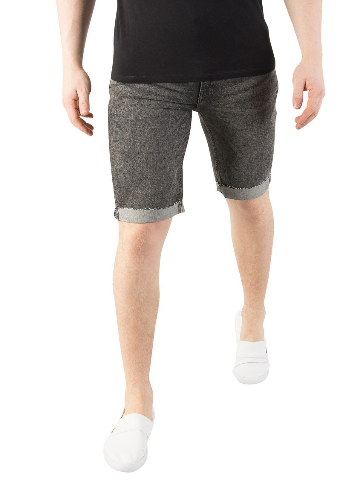 cc4f3afd Levi's Charcoal 511 Slim Cutoff Bloke Denim Shorts in Gray for Men ...