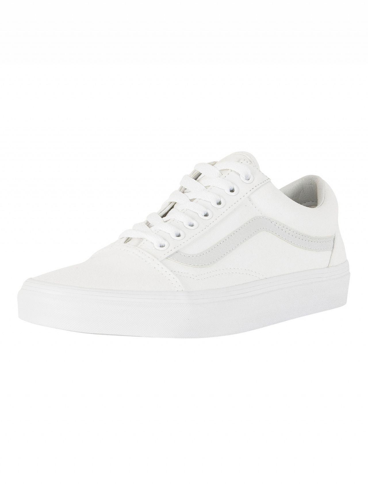 Vans OLD SKOOL - Trainers - corsair/true white KT31p3