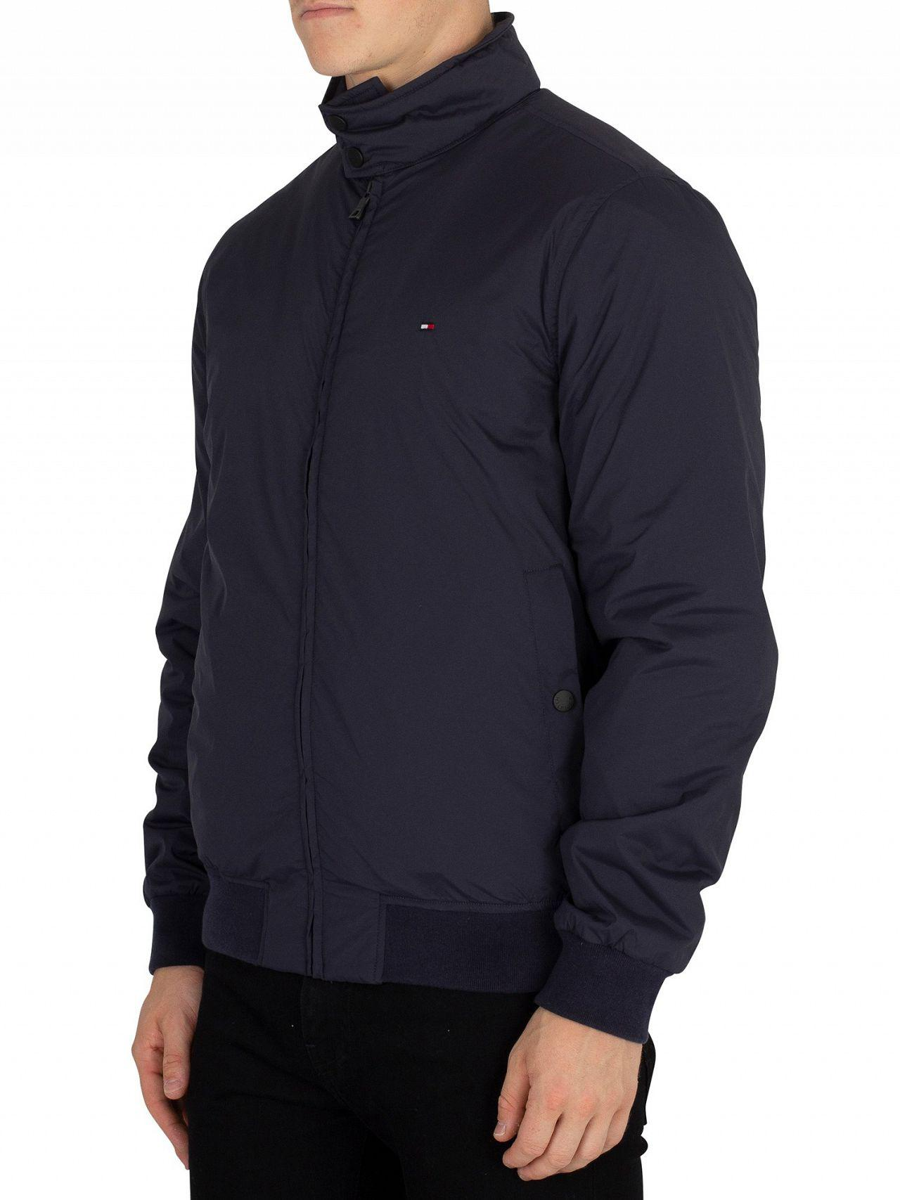51ad82cb7e17f4 Lyst - Tommy Hilfiger Sky Captain Padded Bomber Jacket in Blue for Men