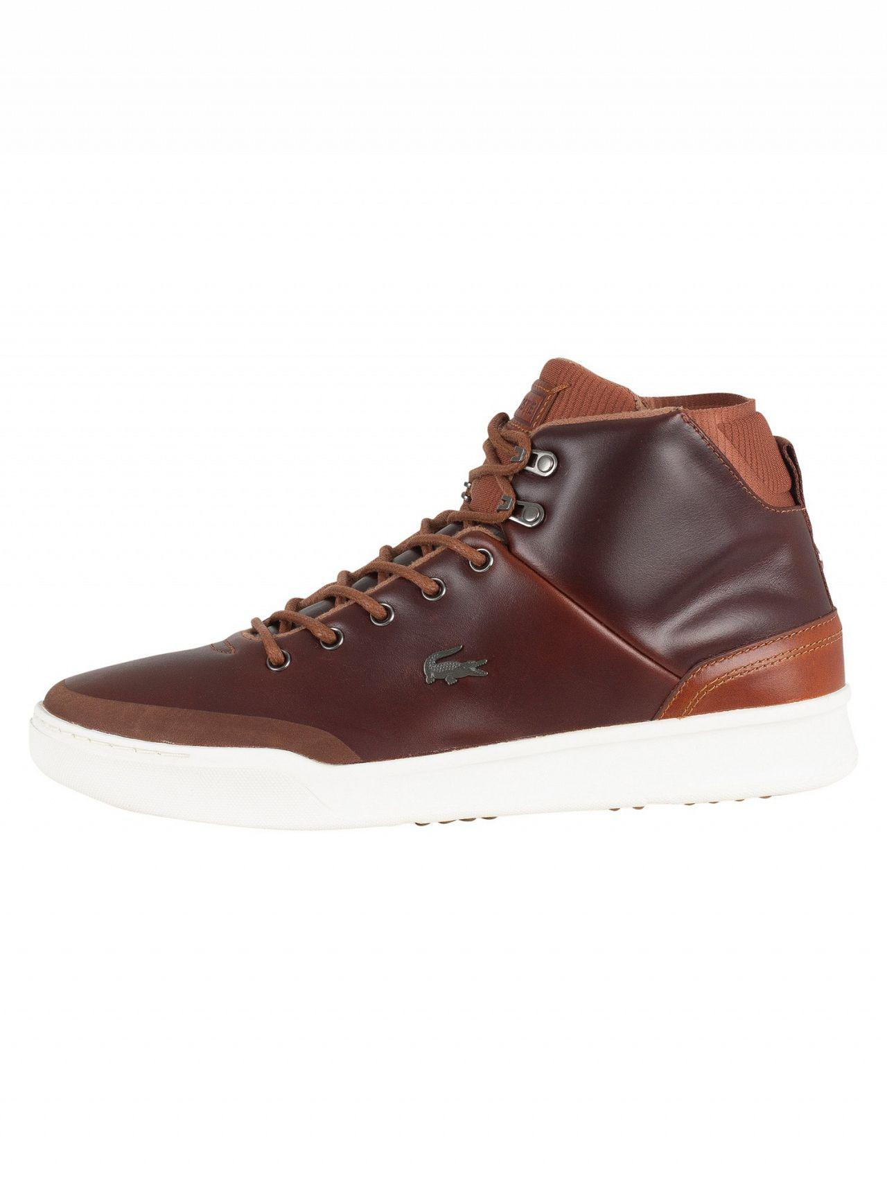 Lyst - Lacoste Tan brown Explorateur Classic 318 1 Cam Trainers in ... a231ee93ca