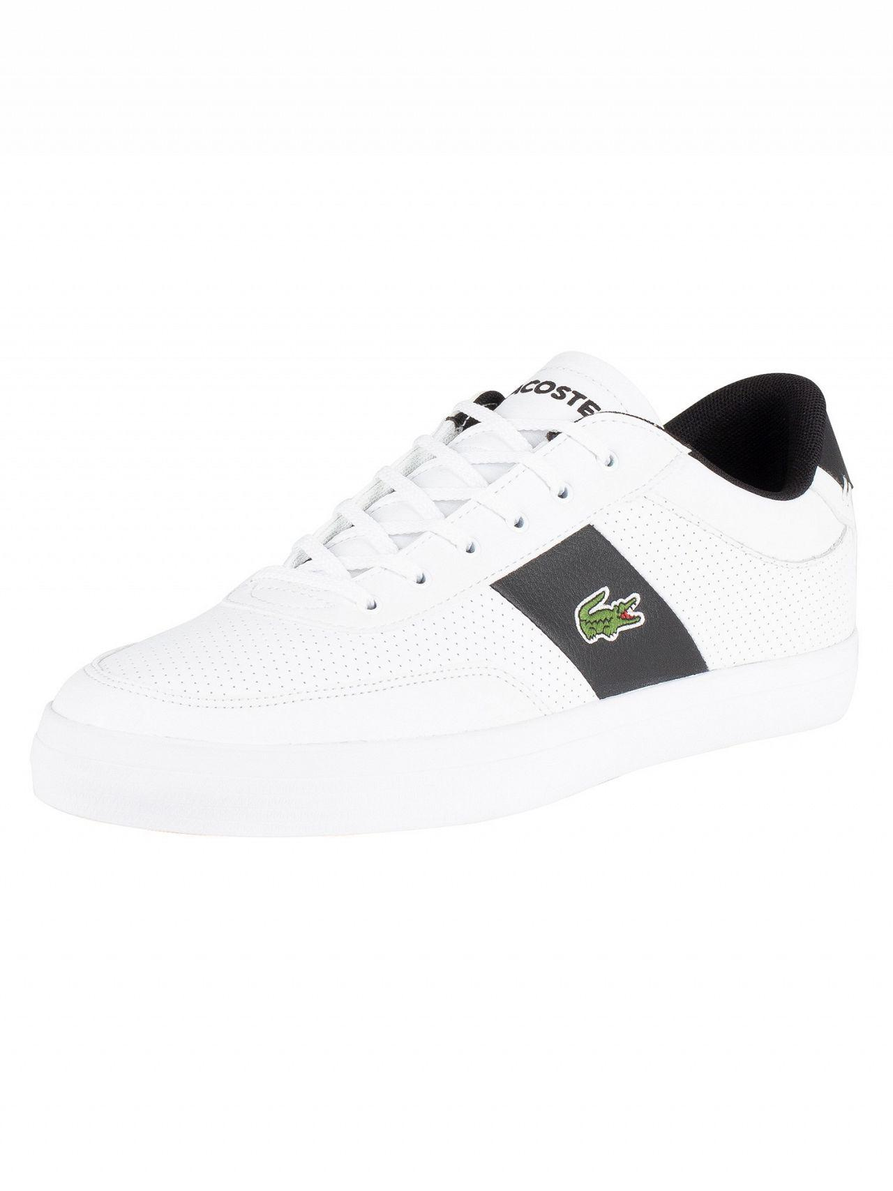 43978f1ecc374b Lyst - Lacoste Court-master 119 2 Perforated Leather Trainers in ...