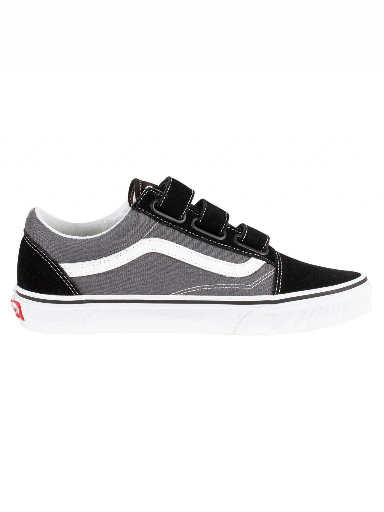 b5c8747814 Vans Pewter black Old Skool V Trainers in Black for Men - Lyst