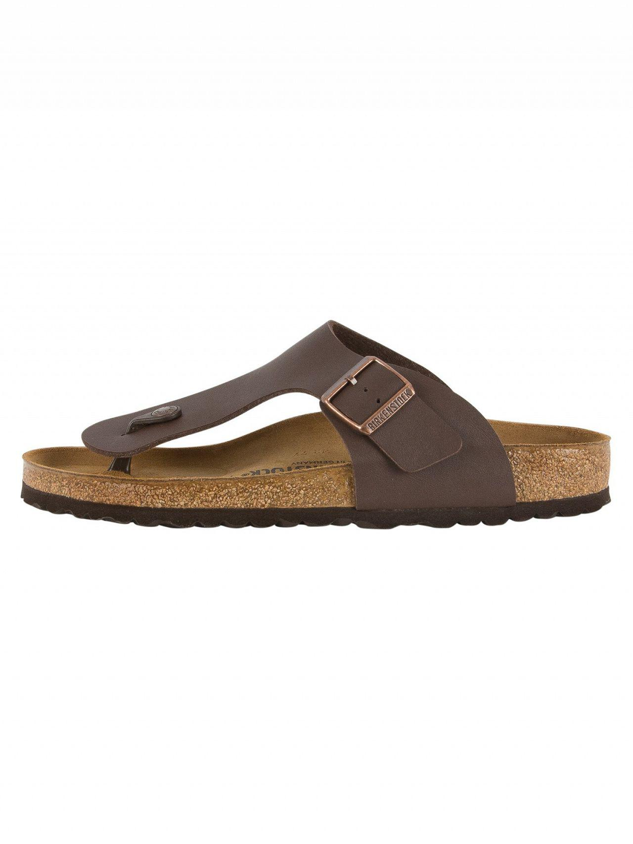 c2059b9e184 Birkenstock Dark Brown Ramses Bs Sandals in Brown for Men - Lyst