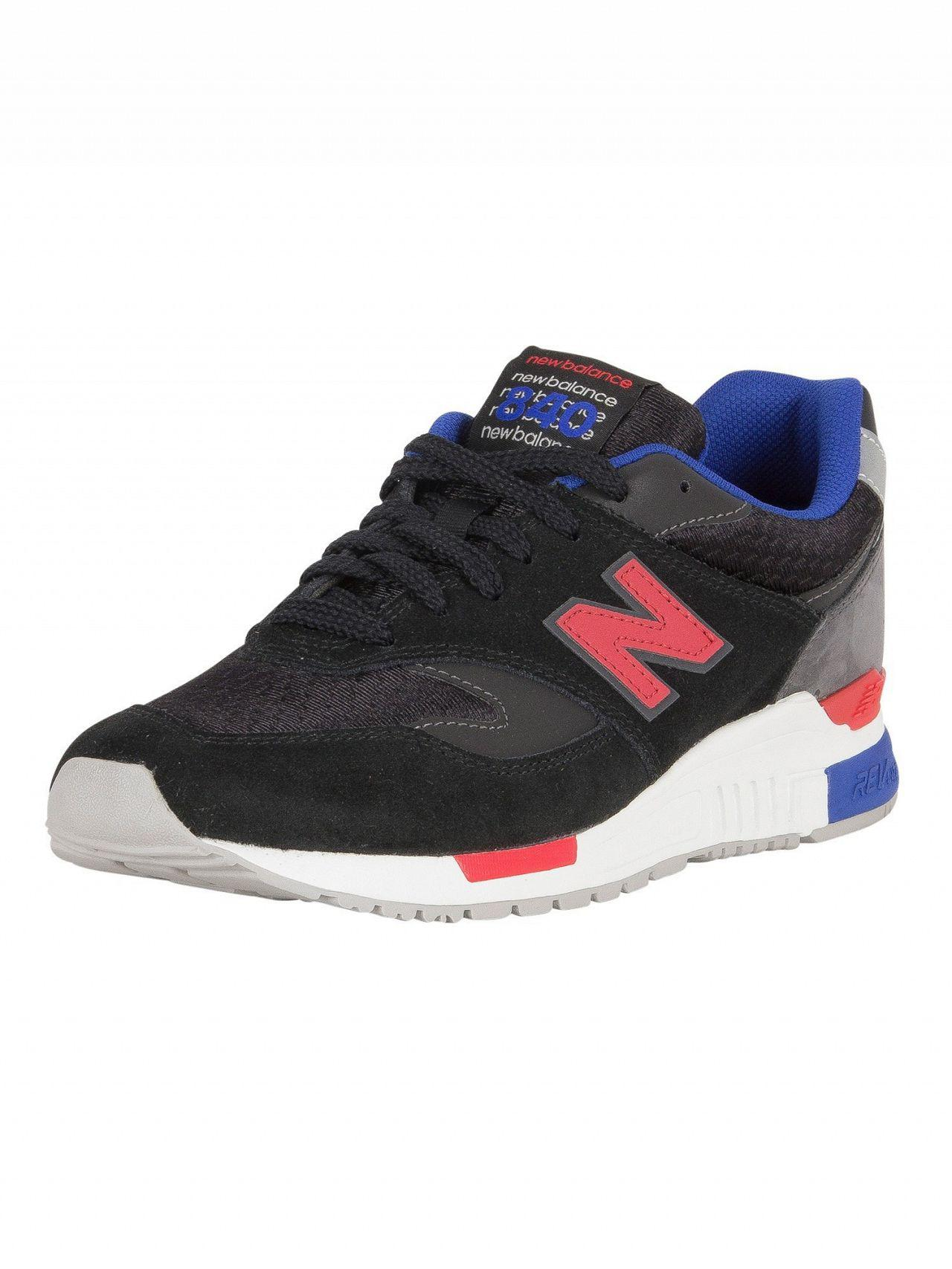 New Balance Black magnet 840 Suede Trainers in Black for Men - Lyst f622f0540bbd
