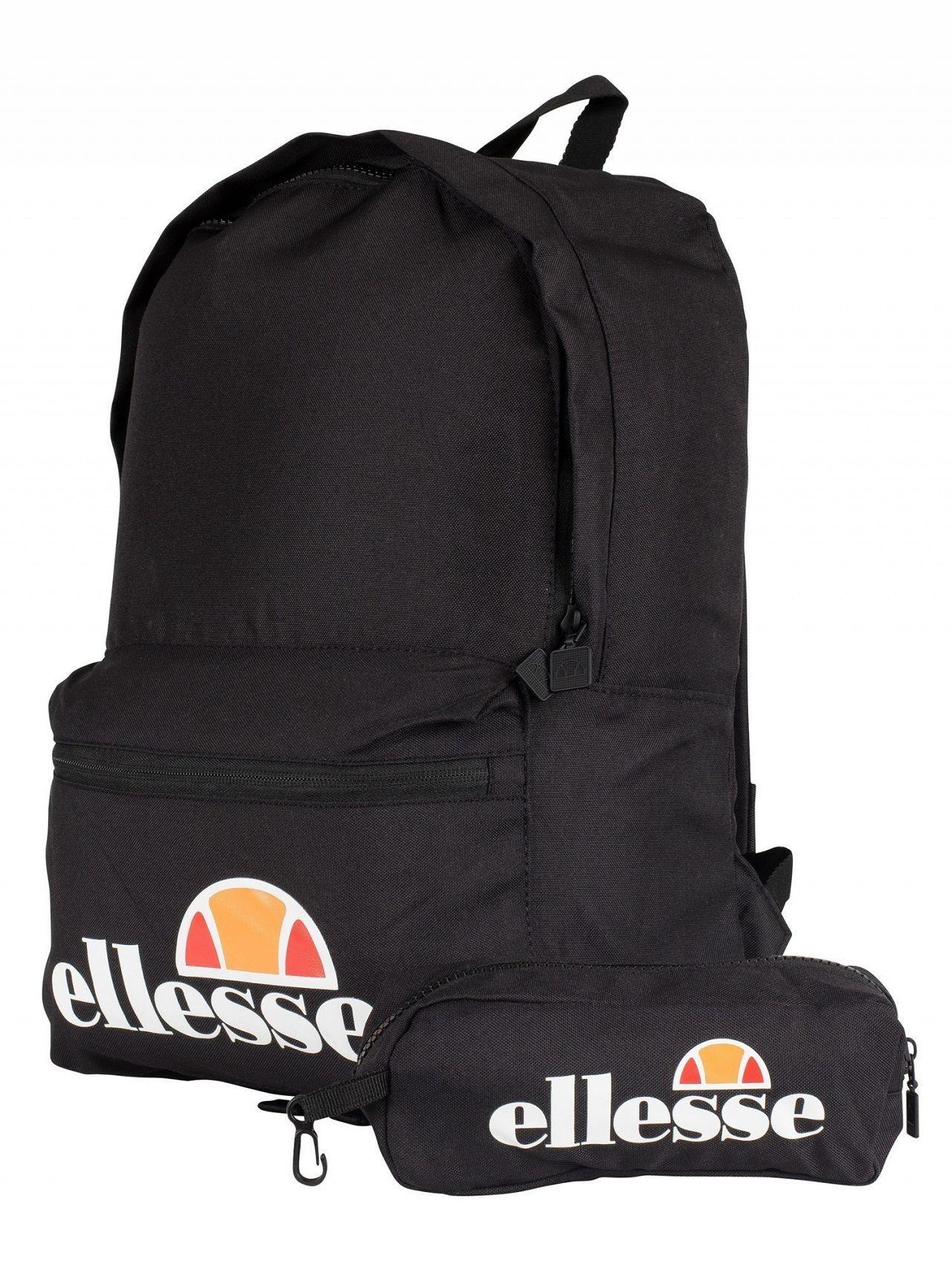204b16d476 Ellesse - Black Rolby Backpack   Pencil Case for Men - Lyst. View fullscreen