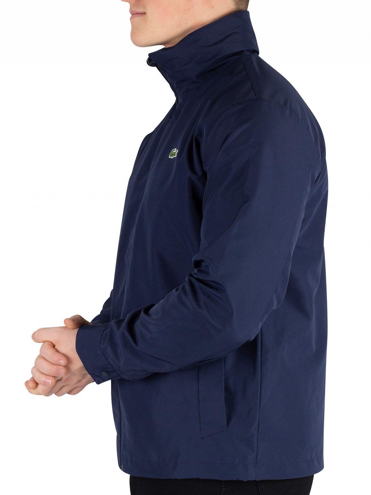 59244043dc Lacoste Men's Lightweight Jacket, Blue Men's Jacket In Blue in Blue for Men  - Lyst
