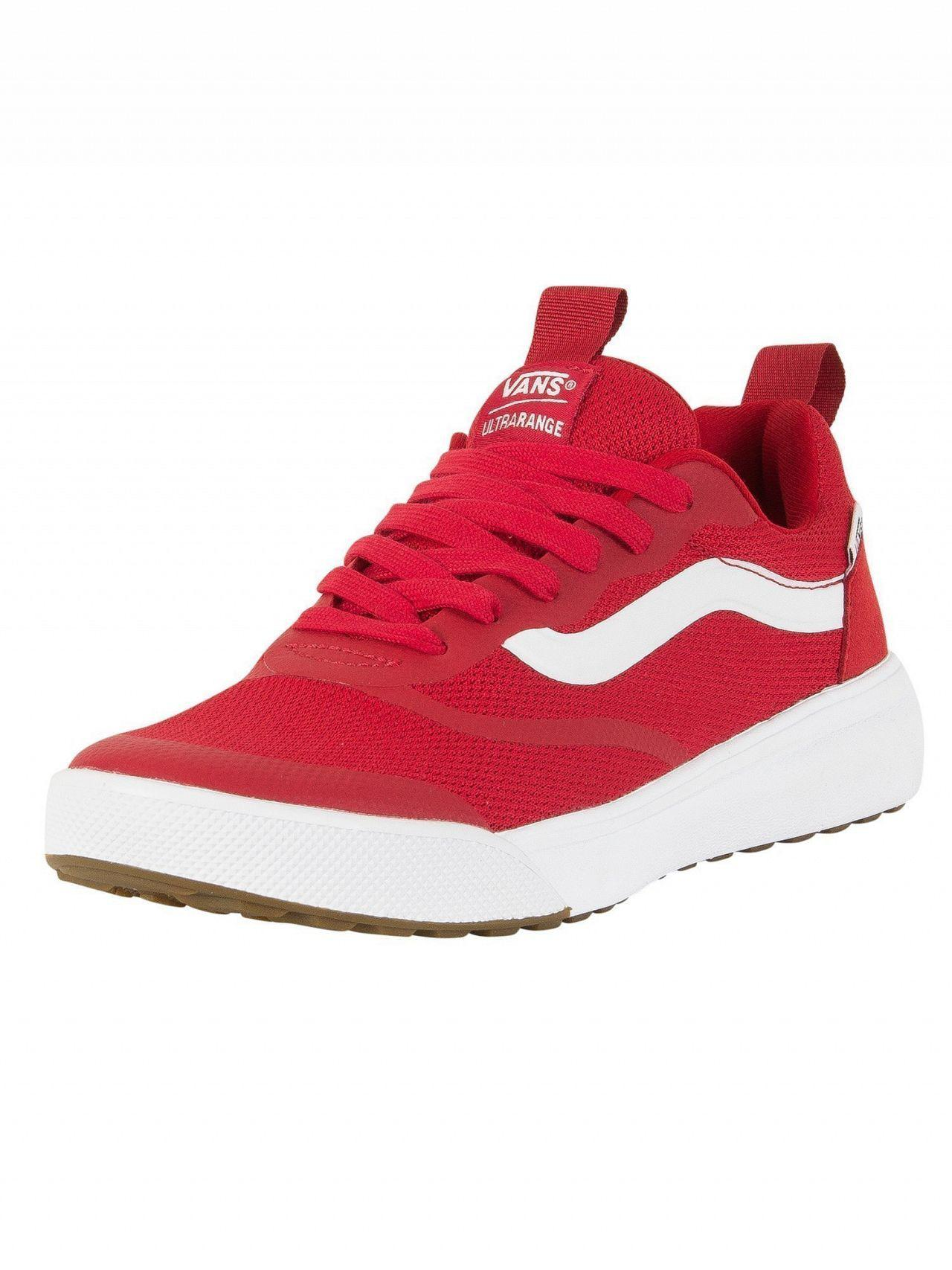21ce50dc1cb Lyst - Vans Chili Pepper Ultrarange Rapidweld Trainers in Red for Men