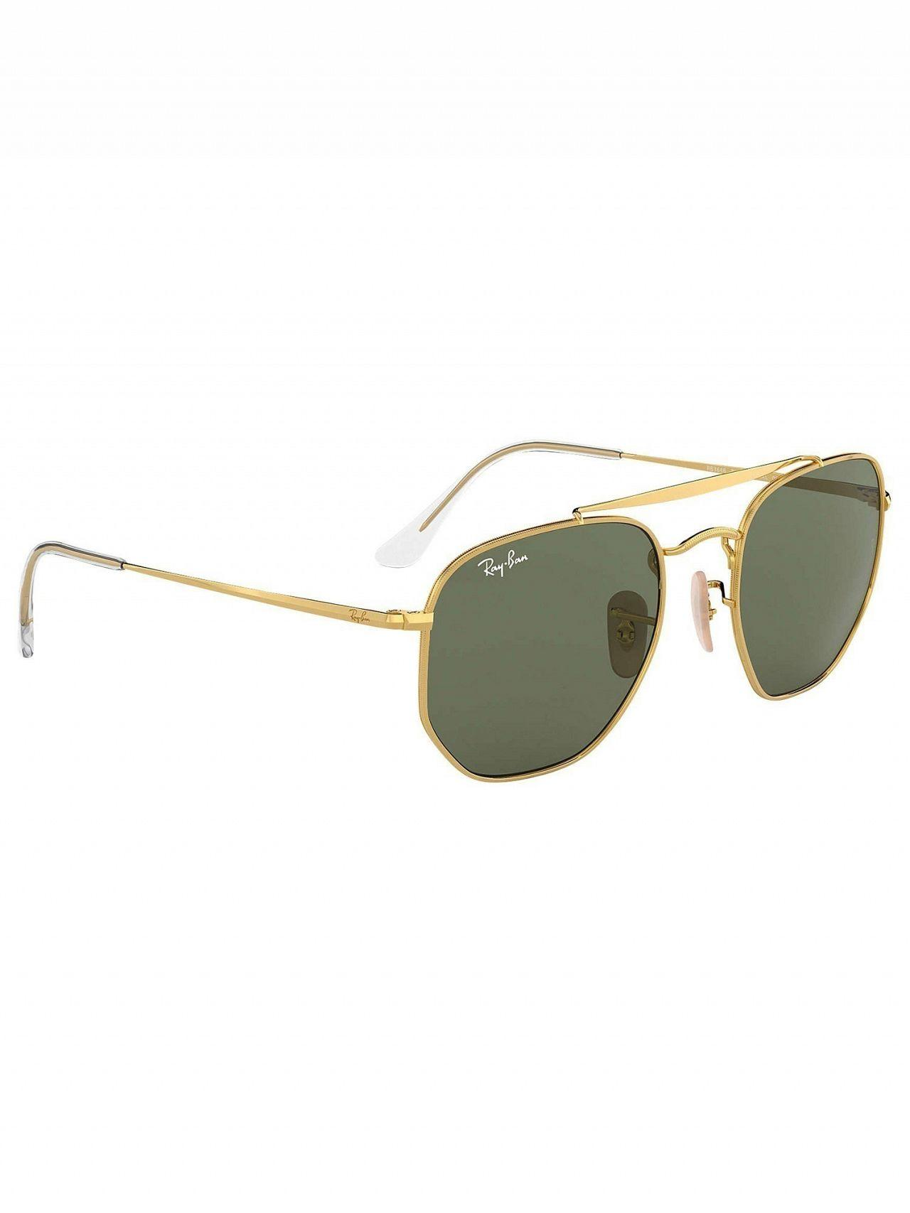 061cda1defe29 Lyst - Ray-Ban Gold Rb3648 Marshal Sunglasses in Metallic for Men