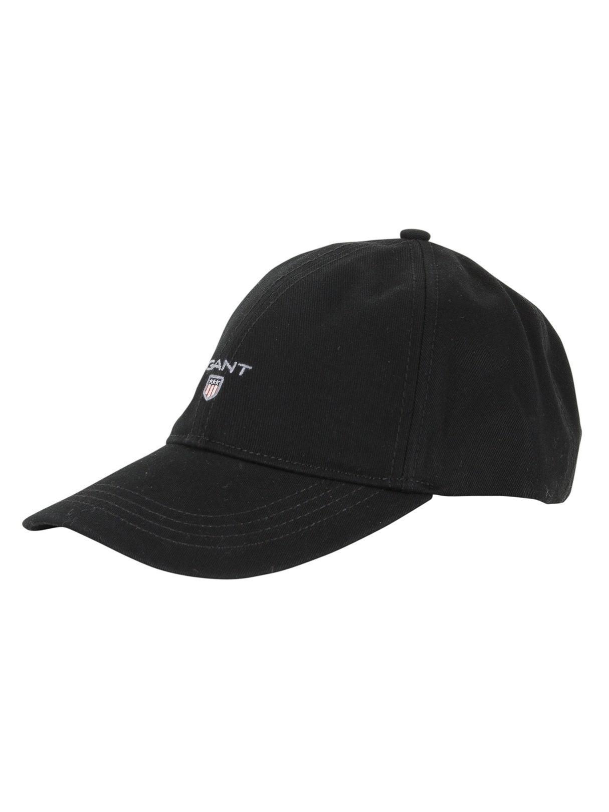 Lyst - GANT Black Twill Logo Cap in Black for Men - Save 41% 1f4724ae9db3