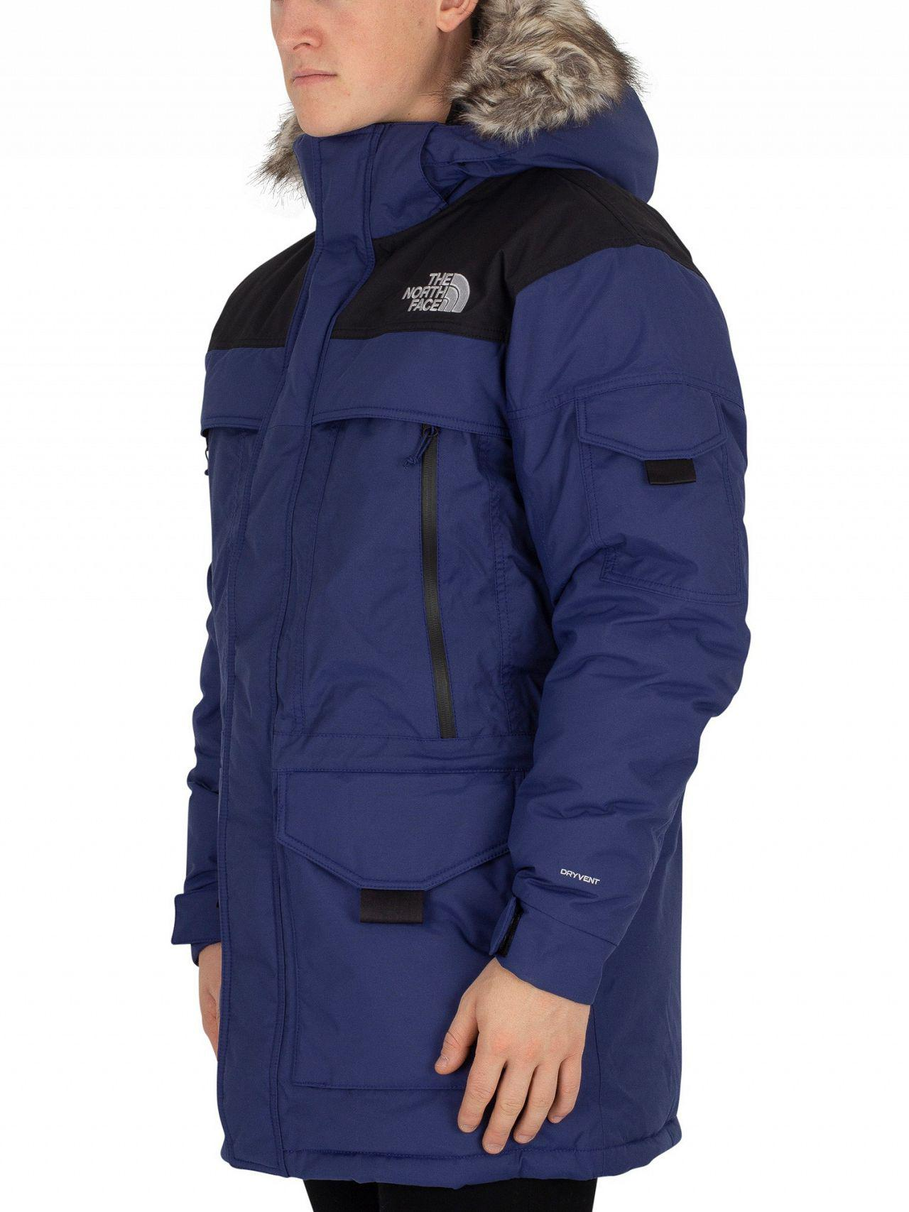 The North Face - Flag Blue black Murdo Parka Jacket for Men - Lyst. View  fullscreen c69d19831