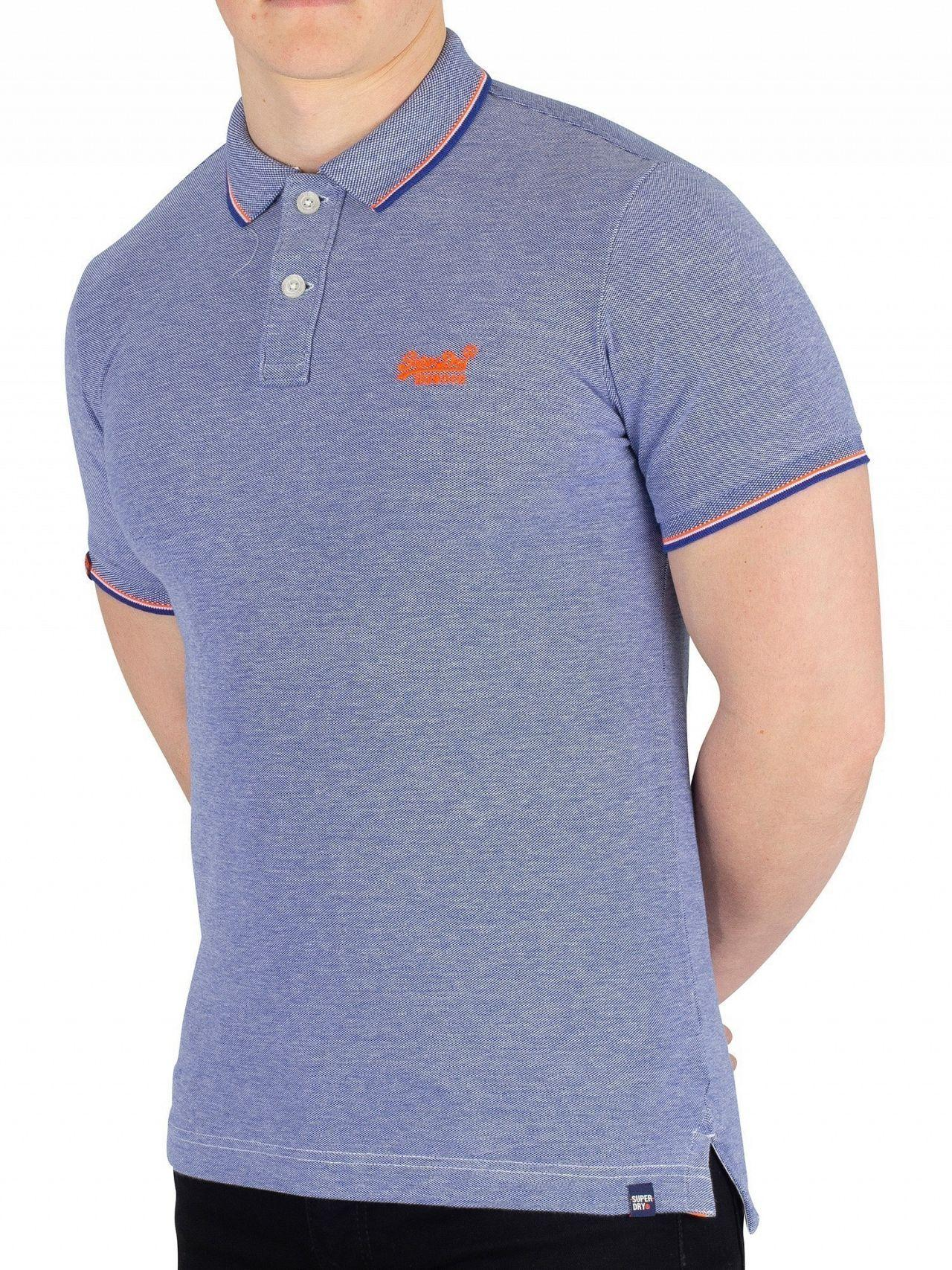 5204a502fdb8 Superdry Cobalt/white Classic Poolside Pique Poloshirt in Blue for ...