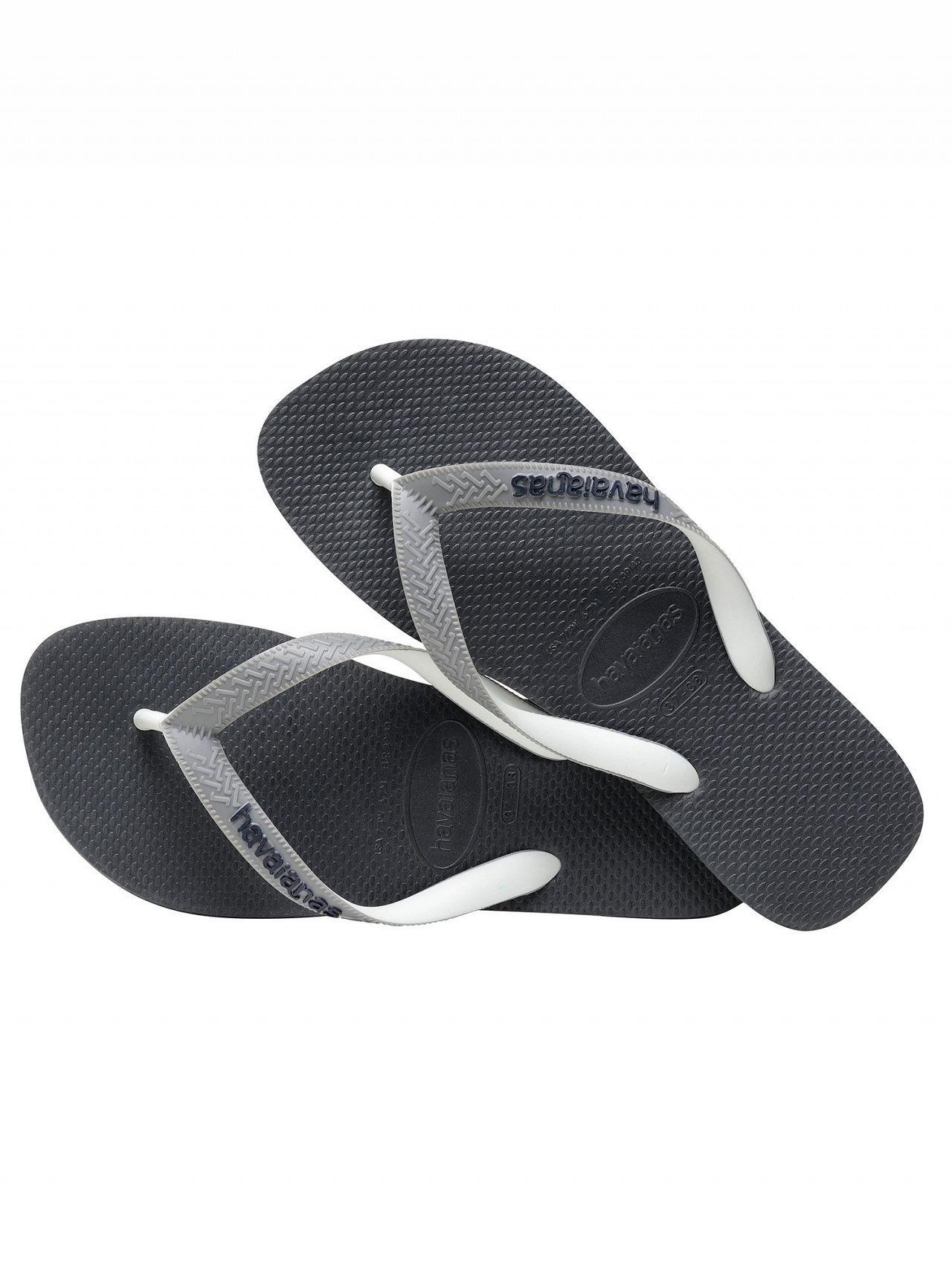 cfc2c1341 Havaianas - Gray Graphite Grey Top Mix Flip Flops for Men - Lyst. View  fullscreen