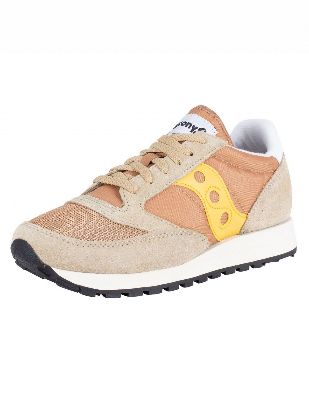 e127fe5bcaf9 Saucony Tan yellow Jazz Original Vintage Trainers for Men - Lyst