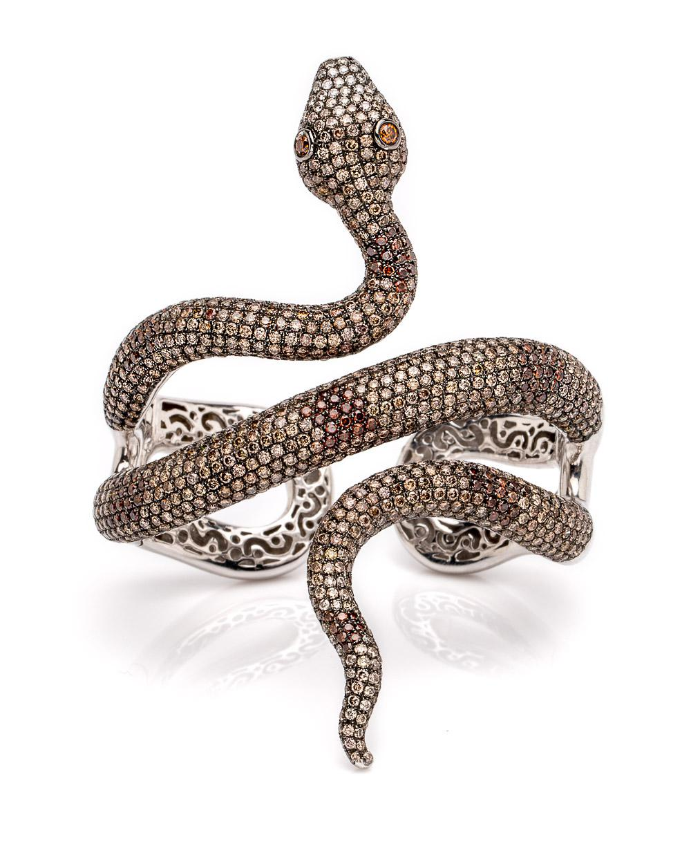 snake double ring products eva victorian dualitas diamond