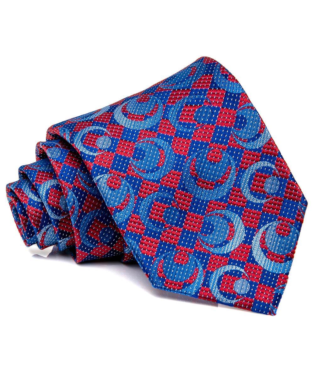 cerca il meglio prezzo limitato Più votati Dolcepunta Red And Blue Patterned Tie in Red for Men - Lyst