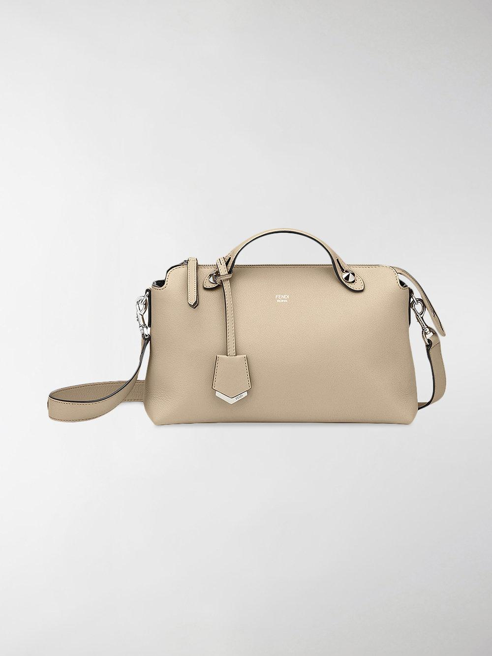 752da25cd929 Lyst - Fendi By The Way Shoulder Bag in Natural