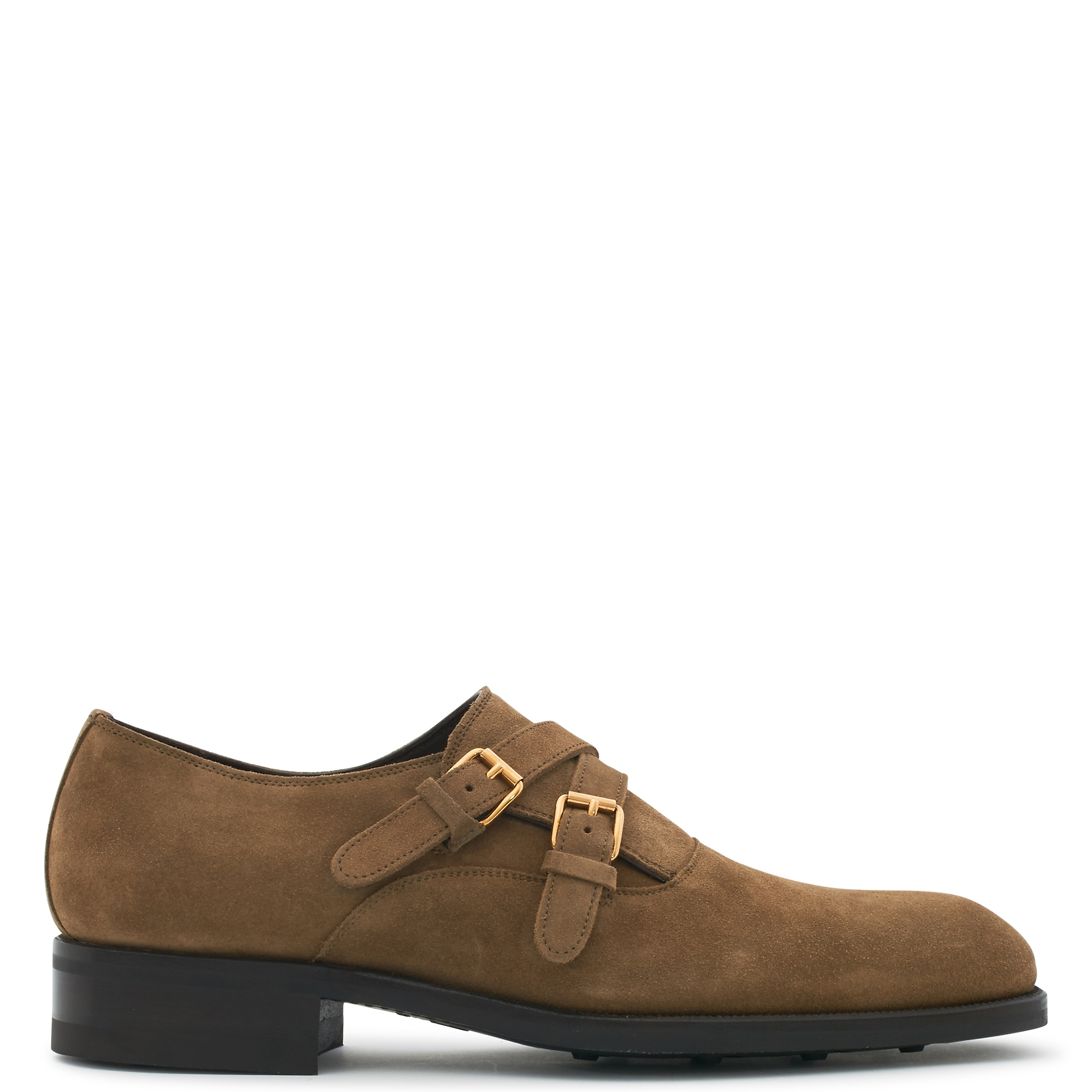 John Lobb Shoes >> Lyst - Tom ford Suede Monk-strap Shoes in Brown for Men