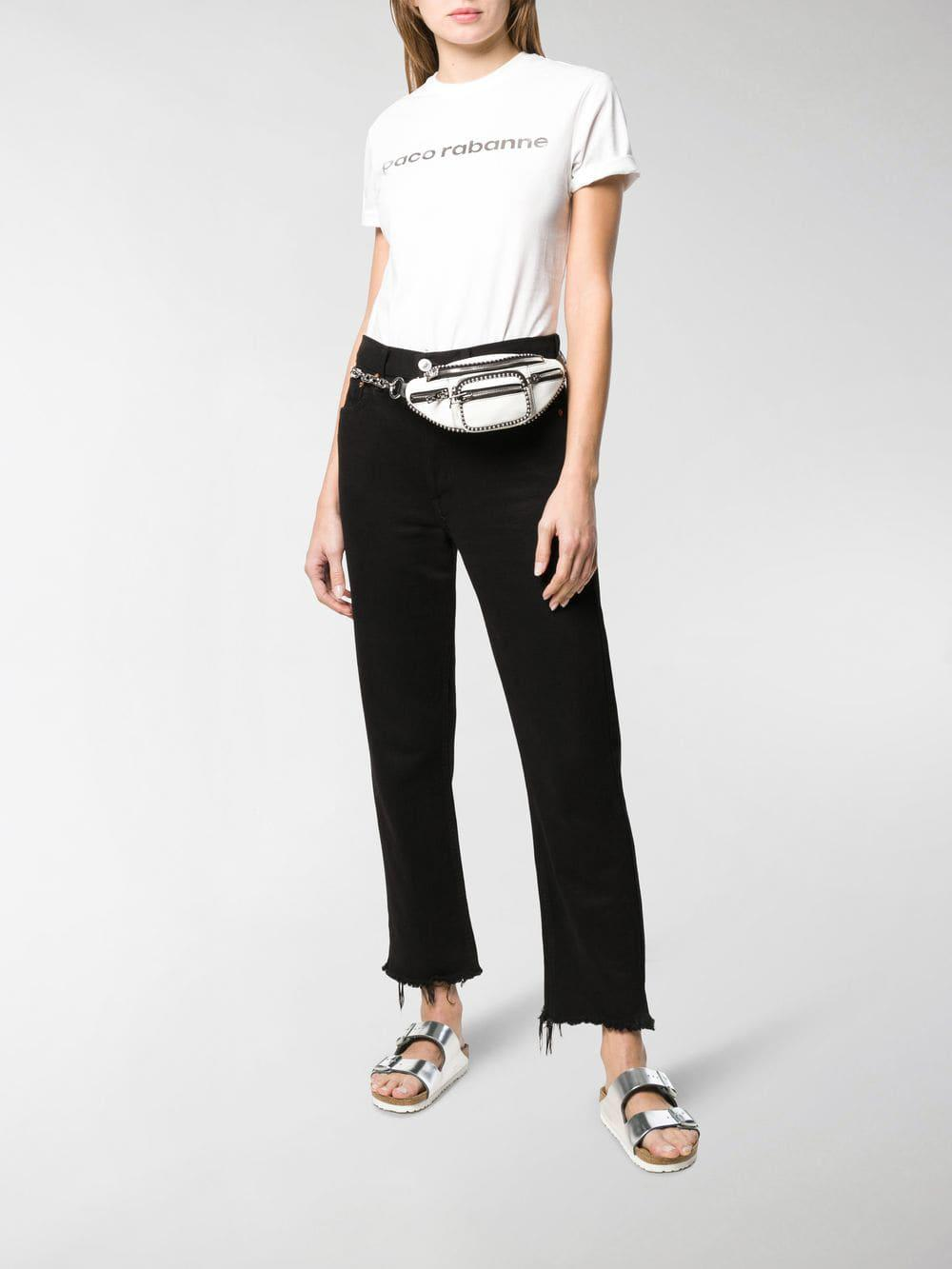 Paco Rabanne - White Logo Print T-shirt - Lyst. View fullscreen bb0e02650