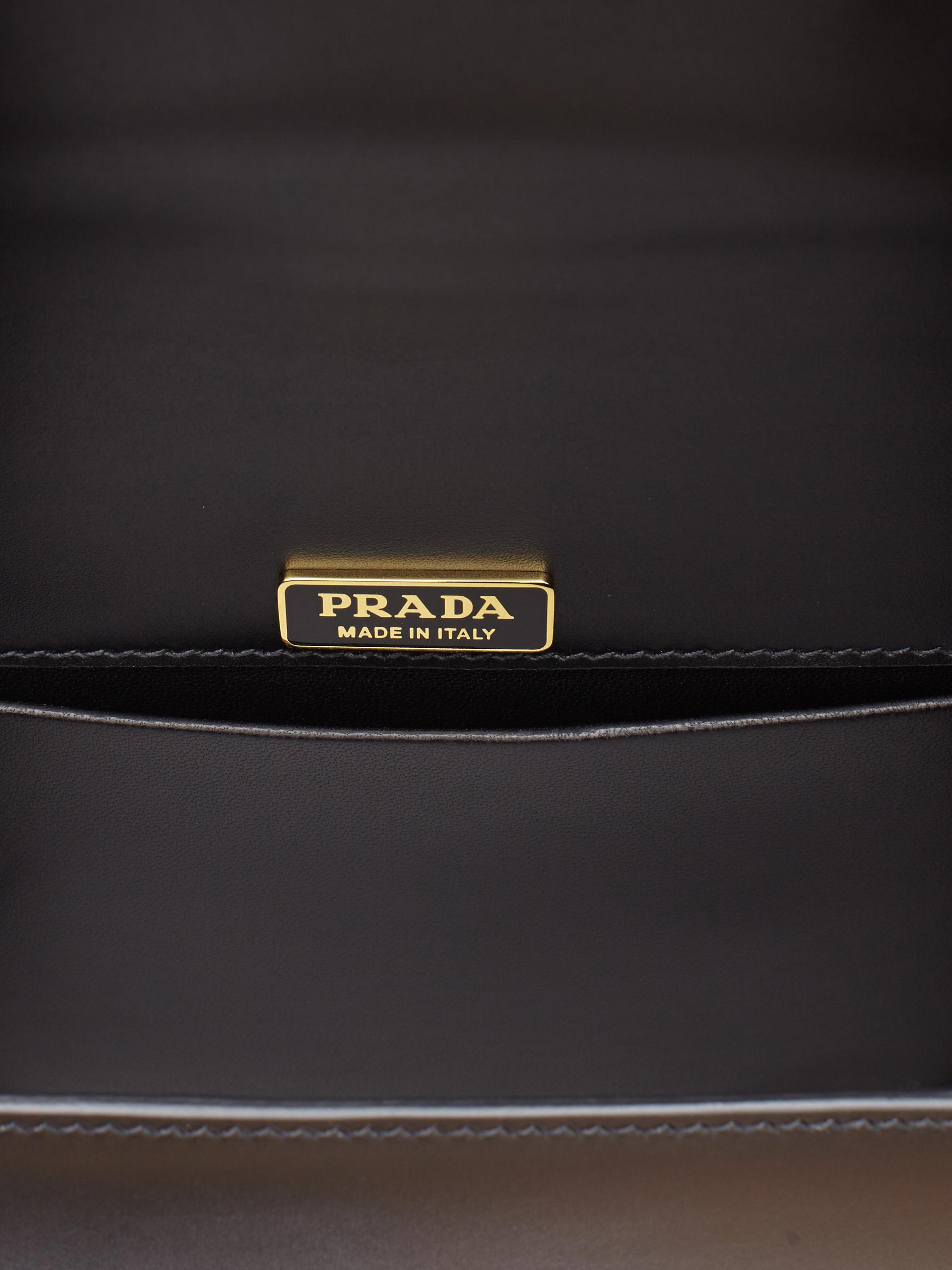 637f40d96669 ... norway lyst prada cahier lion head leather bag in black f8b64 9e353