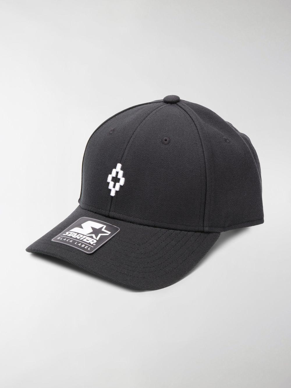 a8d3756bb6c Lyst - Marcelo Burlon Starter Cross Cap in Black for Men
