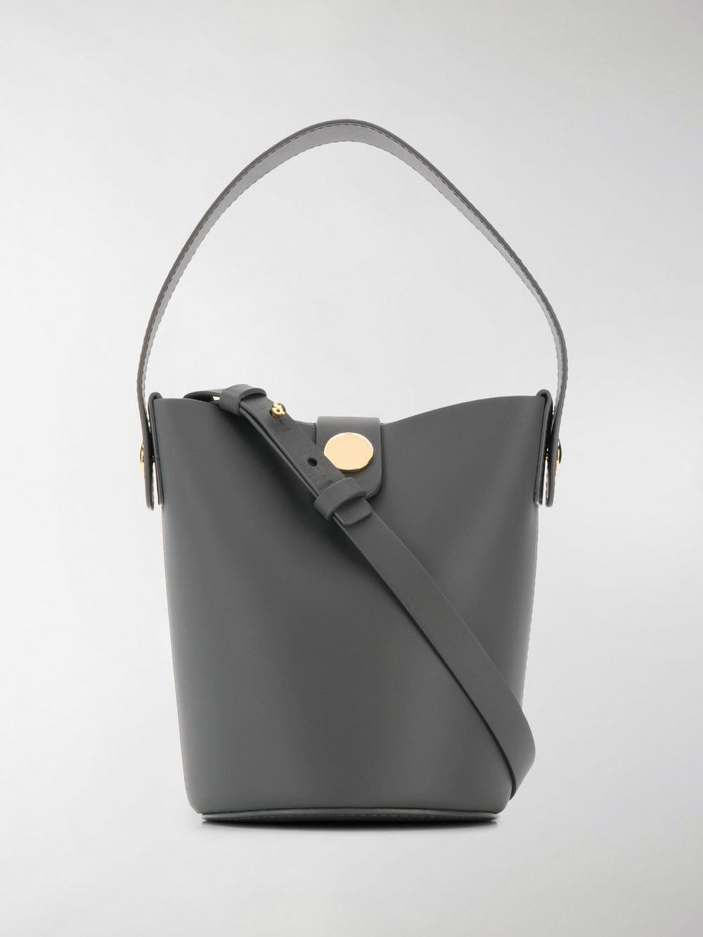 ad4f5497819 Lyst - Sophie Hulme Nano Swing Bucket Bag in Gray